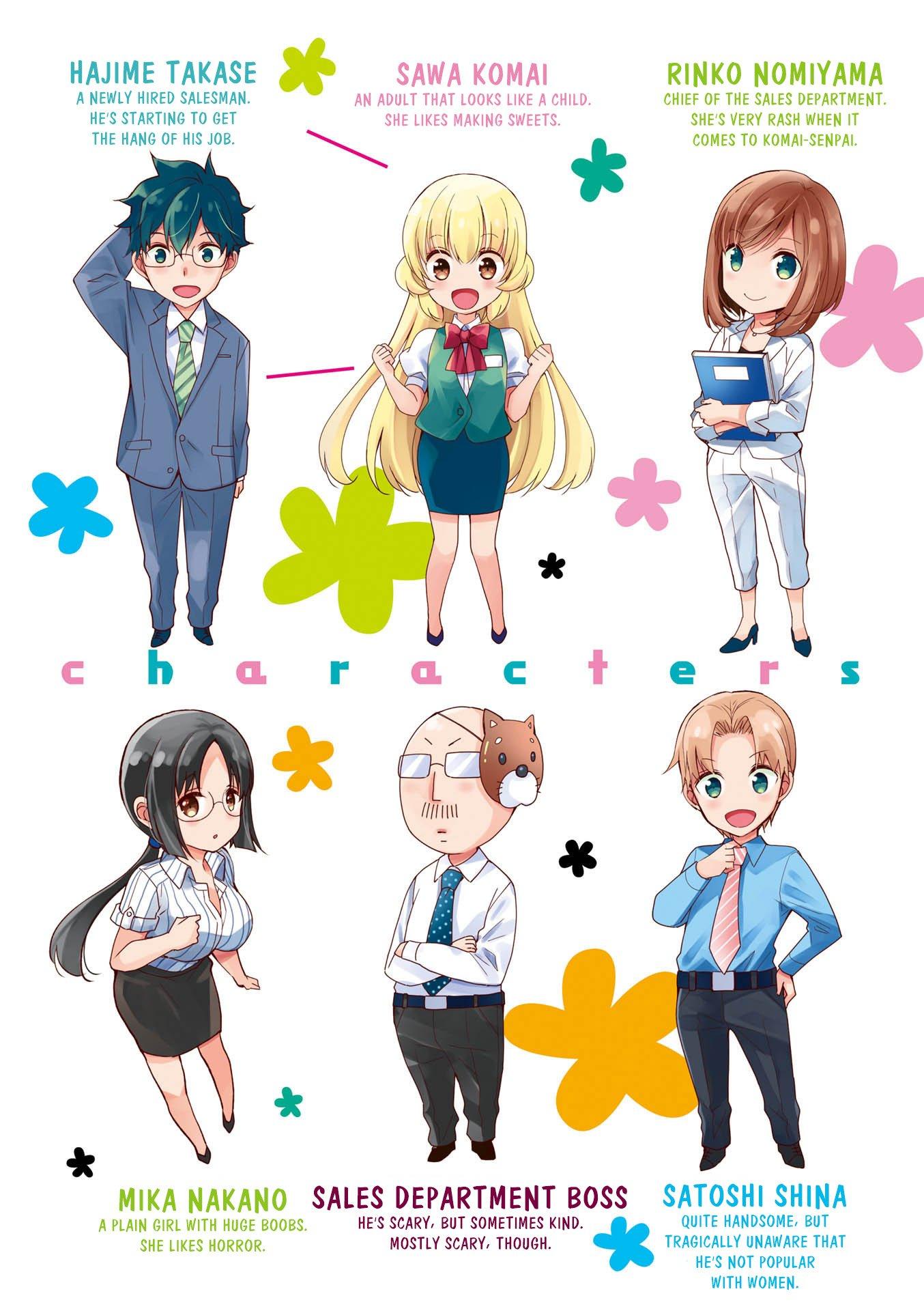 Manga My Short Senpai Is Way Too Cute - Chapter 29.5 Page 4