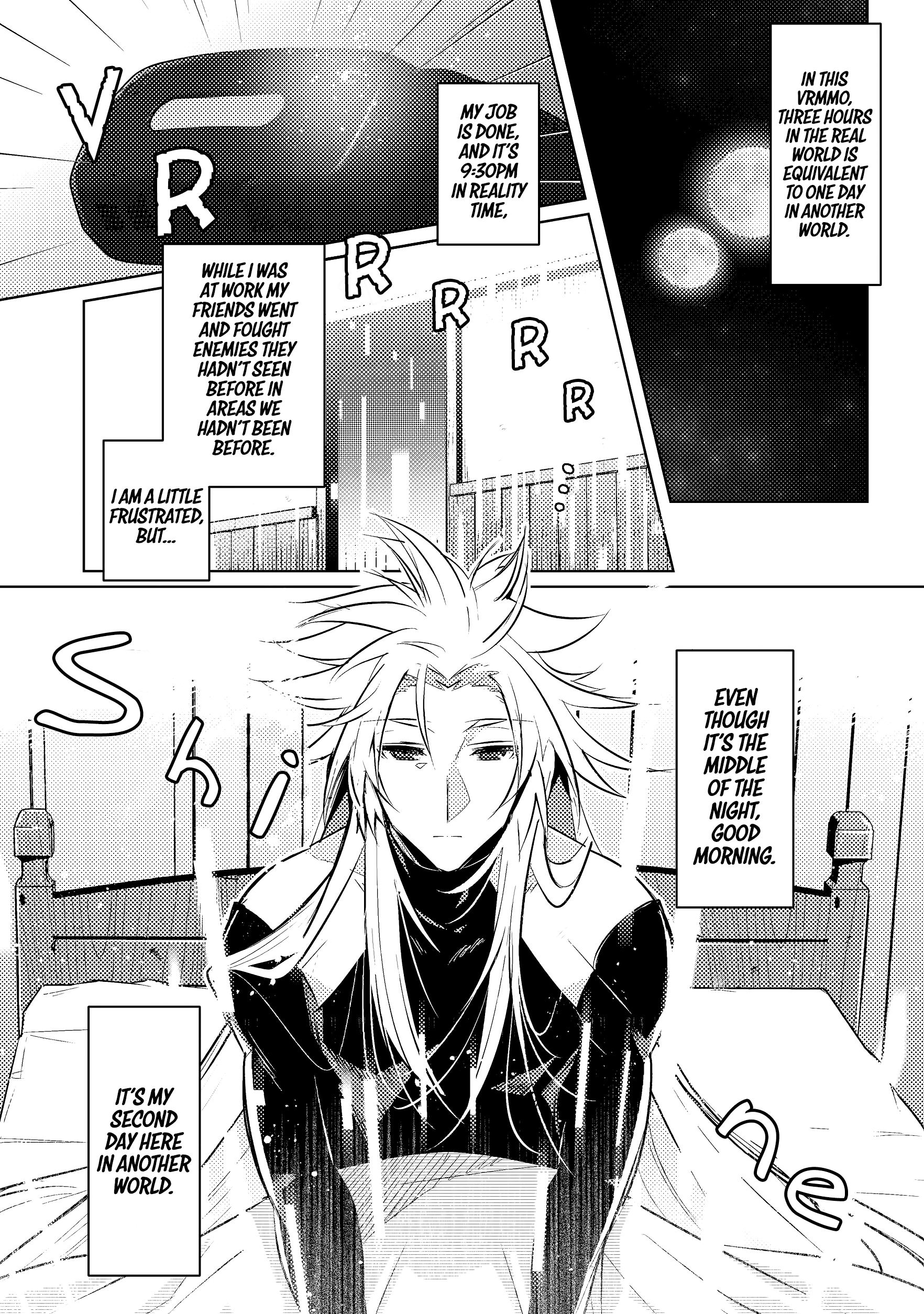 Manga I Began A New Game - Chapter 3 Page 8