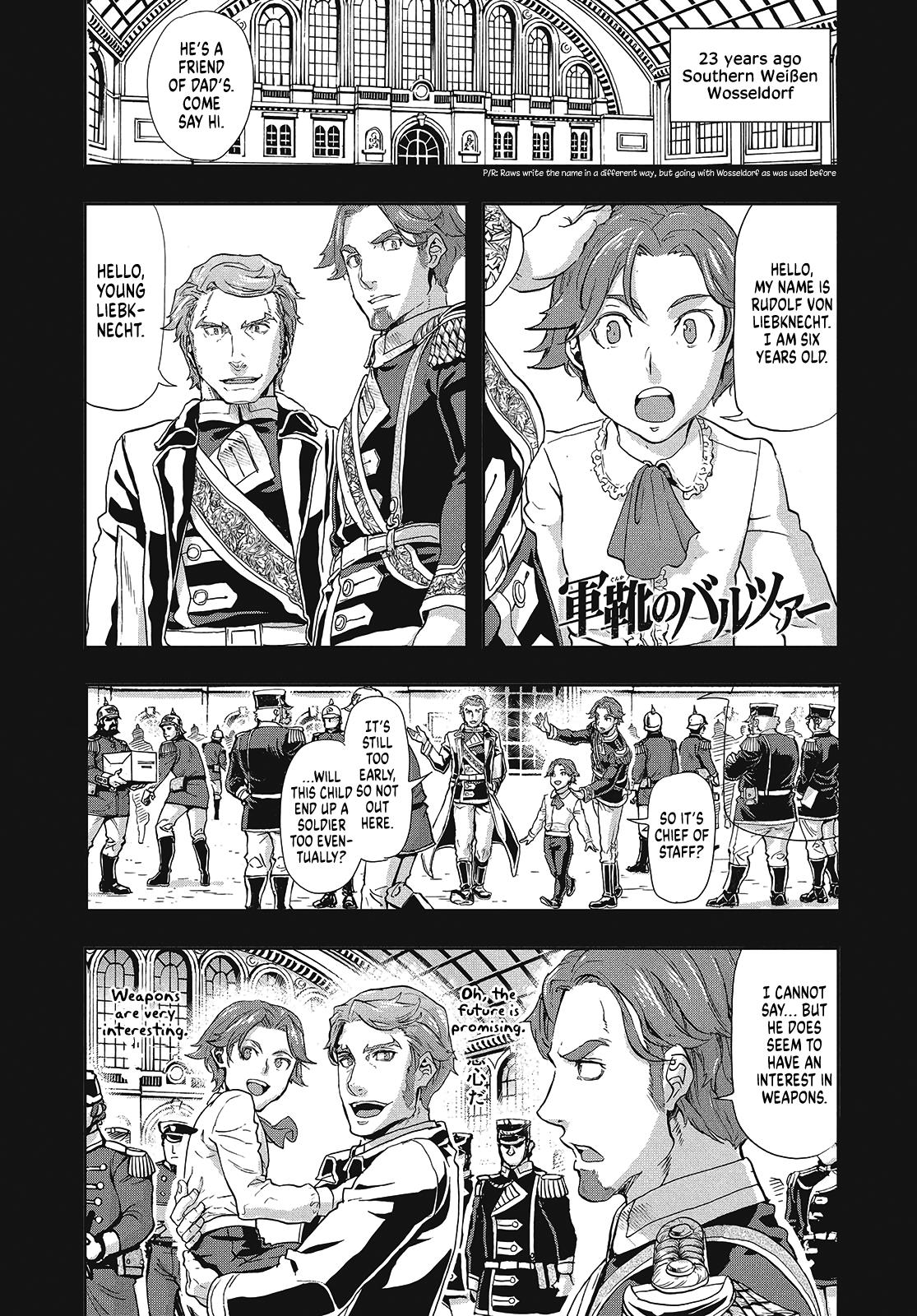 Manga Gunka no Baltzar - Chapter 65 Page 1