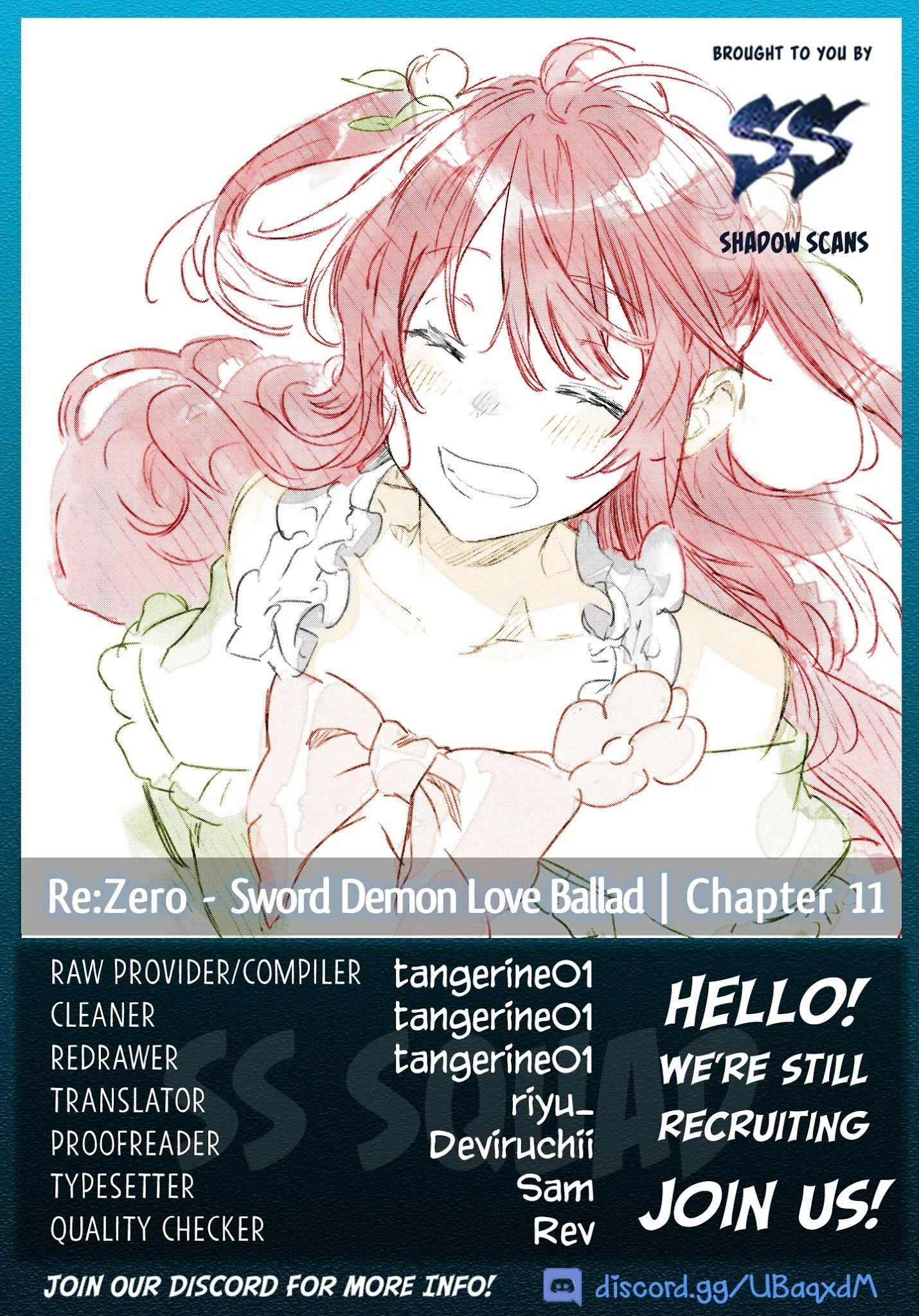 Manga Re: Starting Life in Another World From Zero: Sword Demon Love Ballad - Chapter 11 Page 1