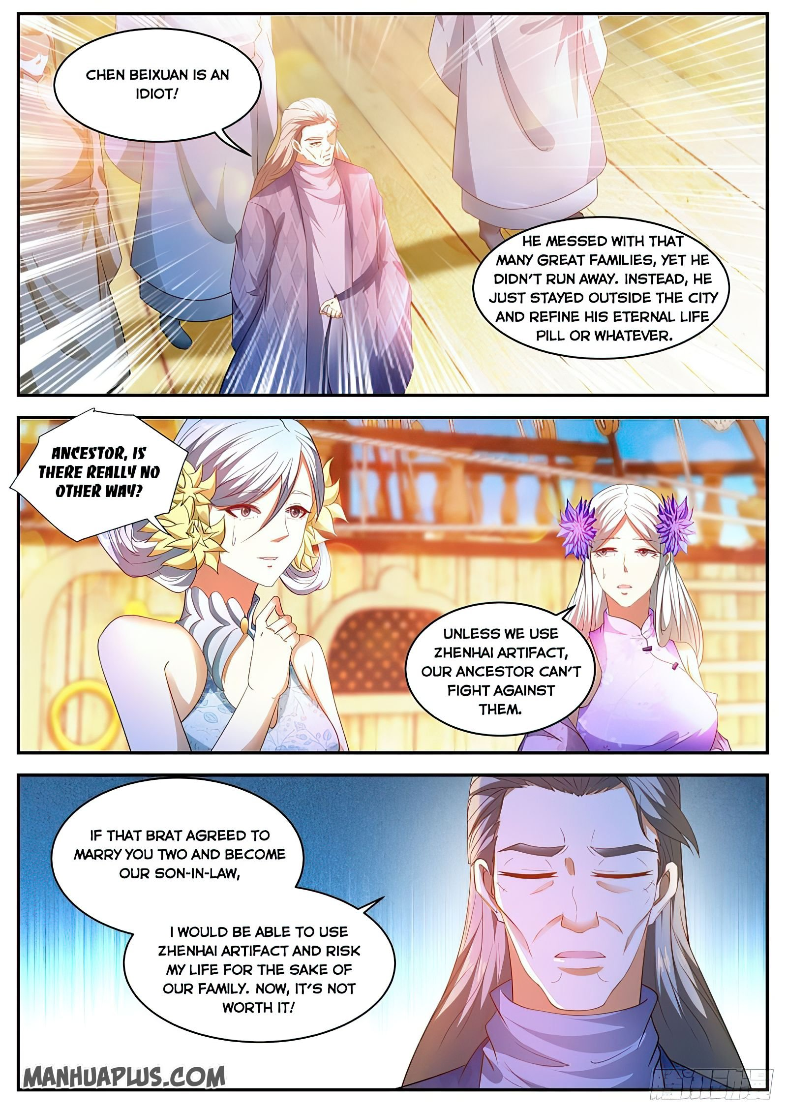 Manga Rebirth Of The Urban Immortal Cultivator - Chapter 488 Page 6