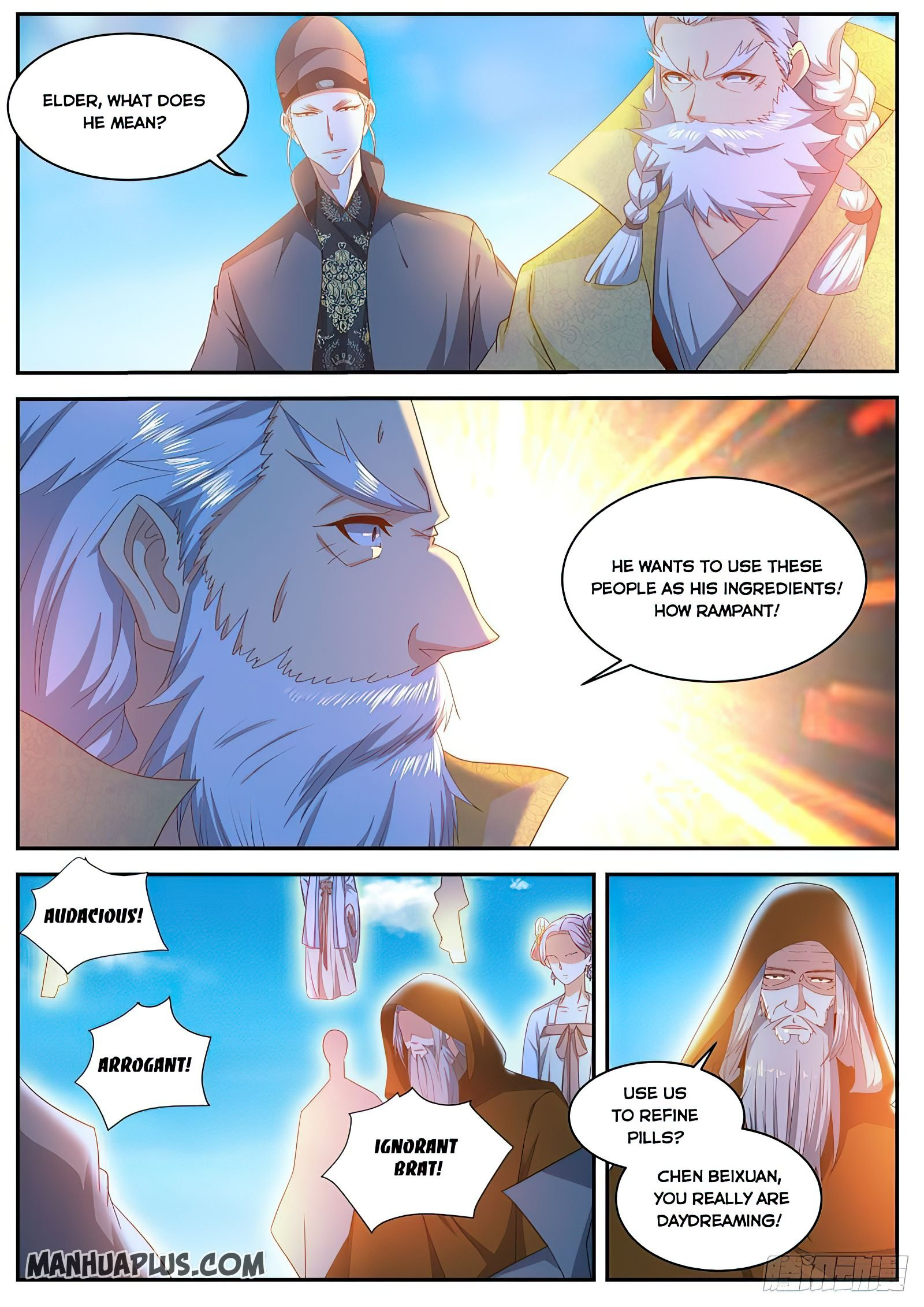 Manga Rebirth Of The Urban Immortal Cultivator - Chapter 488 Page 2