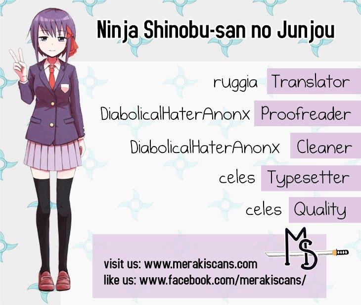Manga Ninja Shinobu-chan no Junjou - Chapter 30 Page 1