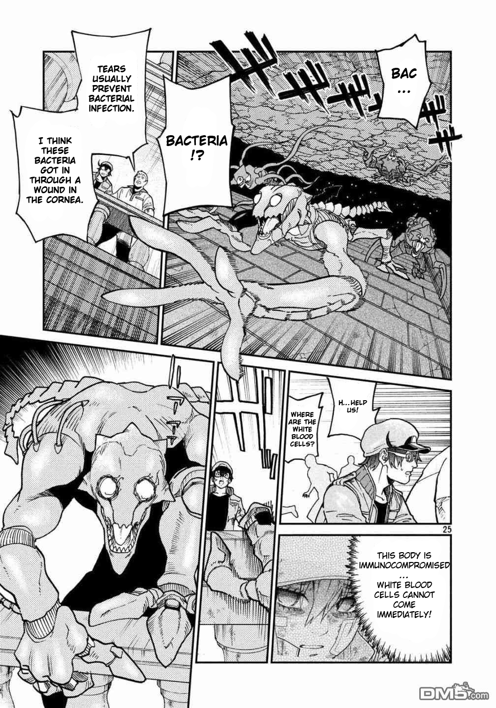Manga Hataraku Saibou BLACK - Chapter 32 Page 26