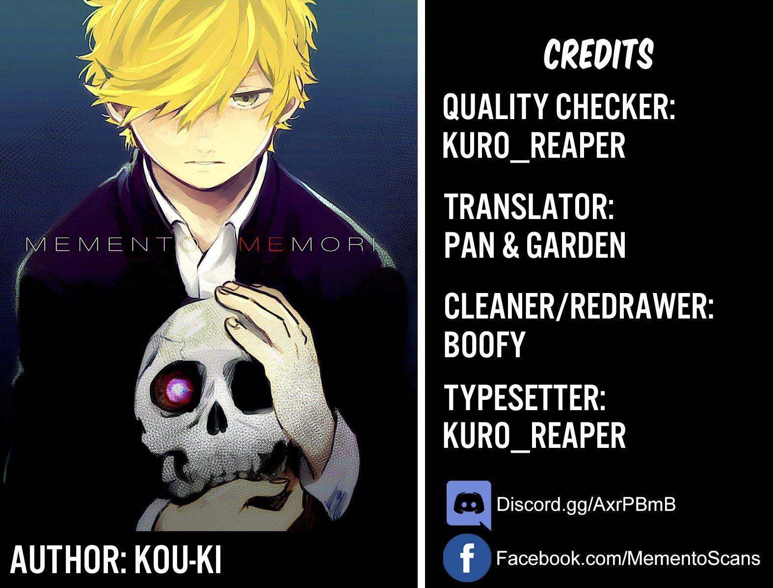 Manga Memento Memori - Chapter 16 Page 1