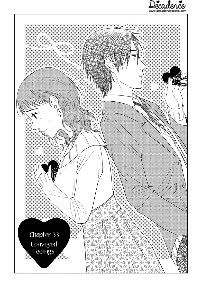 Manga It's Too Sick To Call It Love - Chapter 33 Page 1