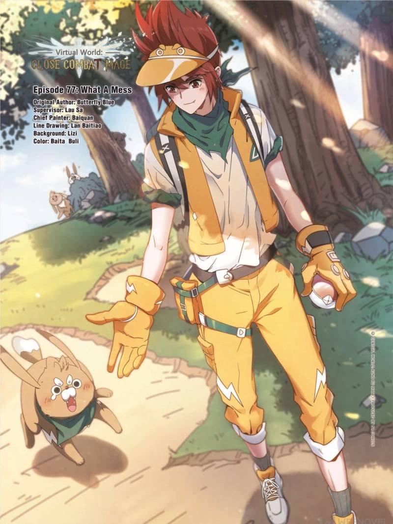Manga Virtual World: Close Combat Mage - Chapter 161 Page 1