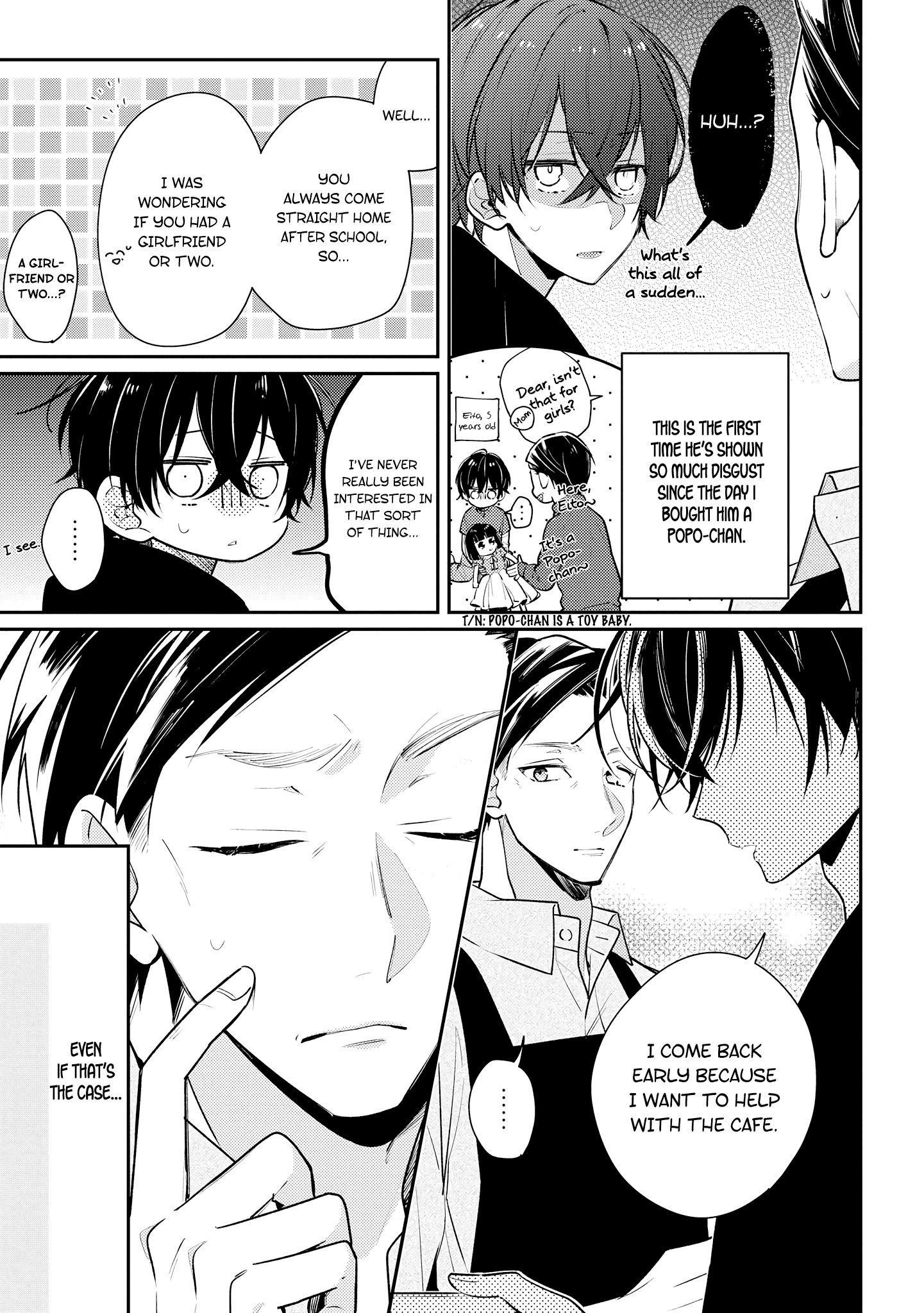 Manga Coffee shop Anemone - Chapter 13 Page 11