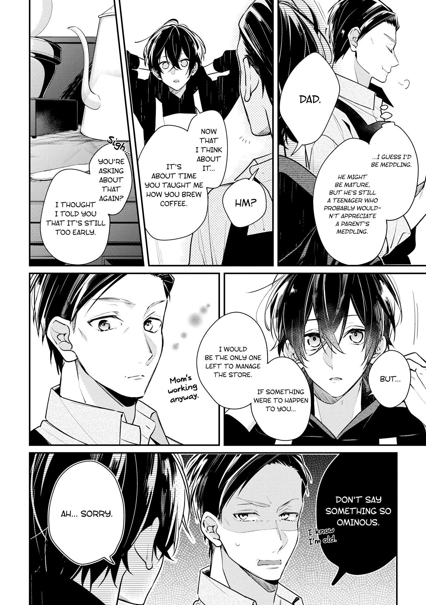 Manga Coffee shop Anemone - Chapter 13 Page 8