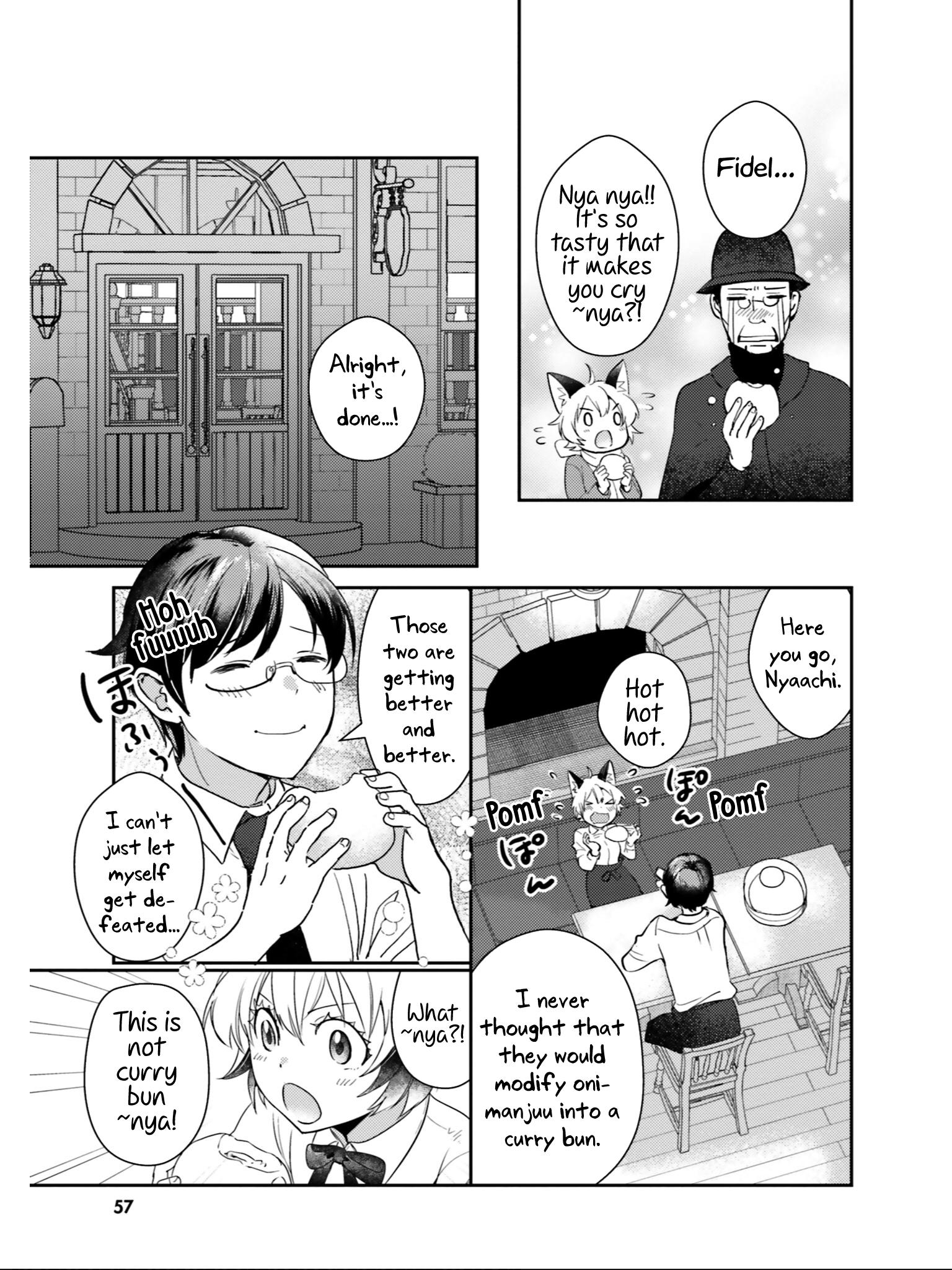 Manga Isekai Ekisha no Kissaten - Chapter 23 Page 28