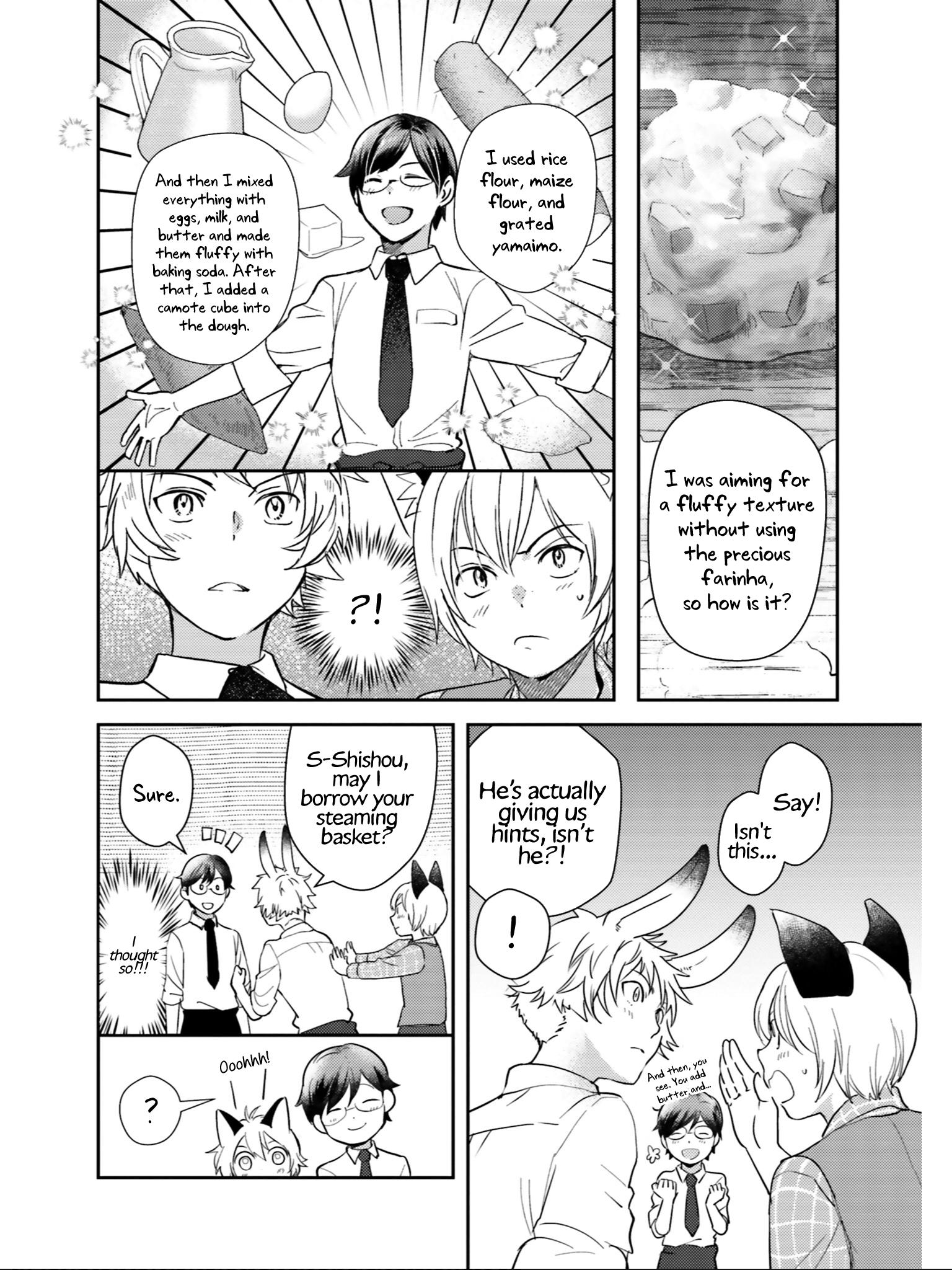 Manga Isekai Ekisha no Kissaten - Chapter 23 Page 9