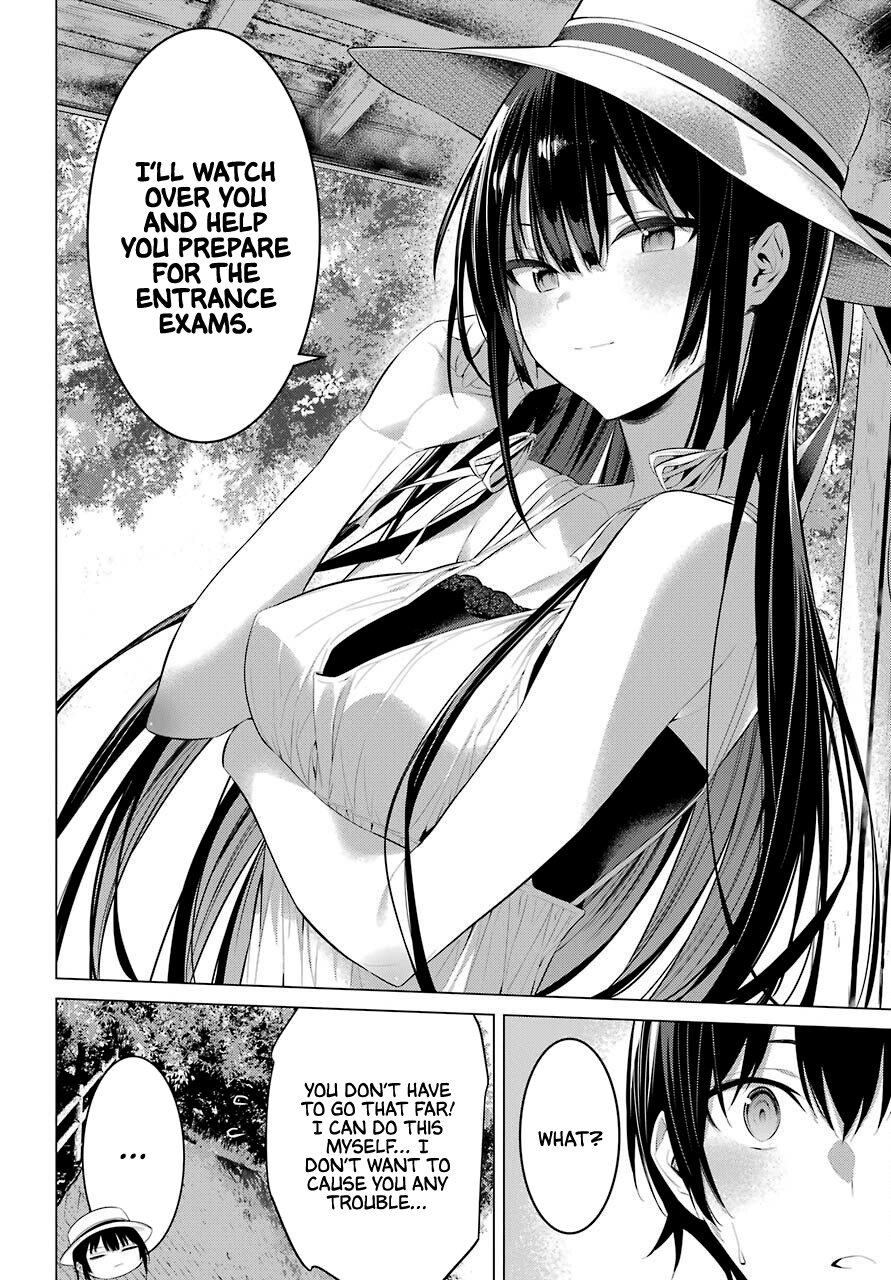 Manga Haite Kudasai, Takamine San - Chapter 19 Page 27
