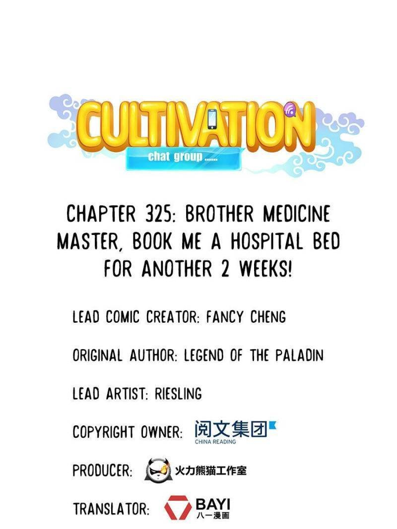 Manga Cultivation Chat Group - Chapter 325 Page 1