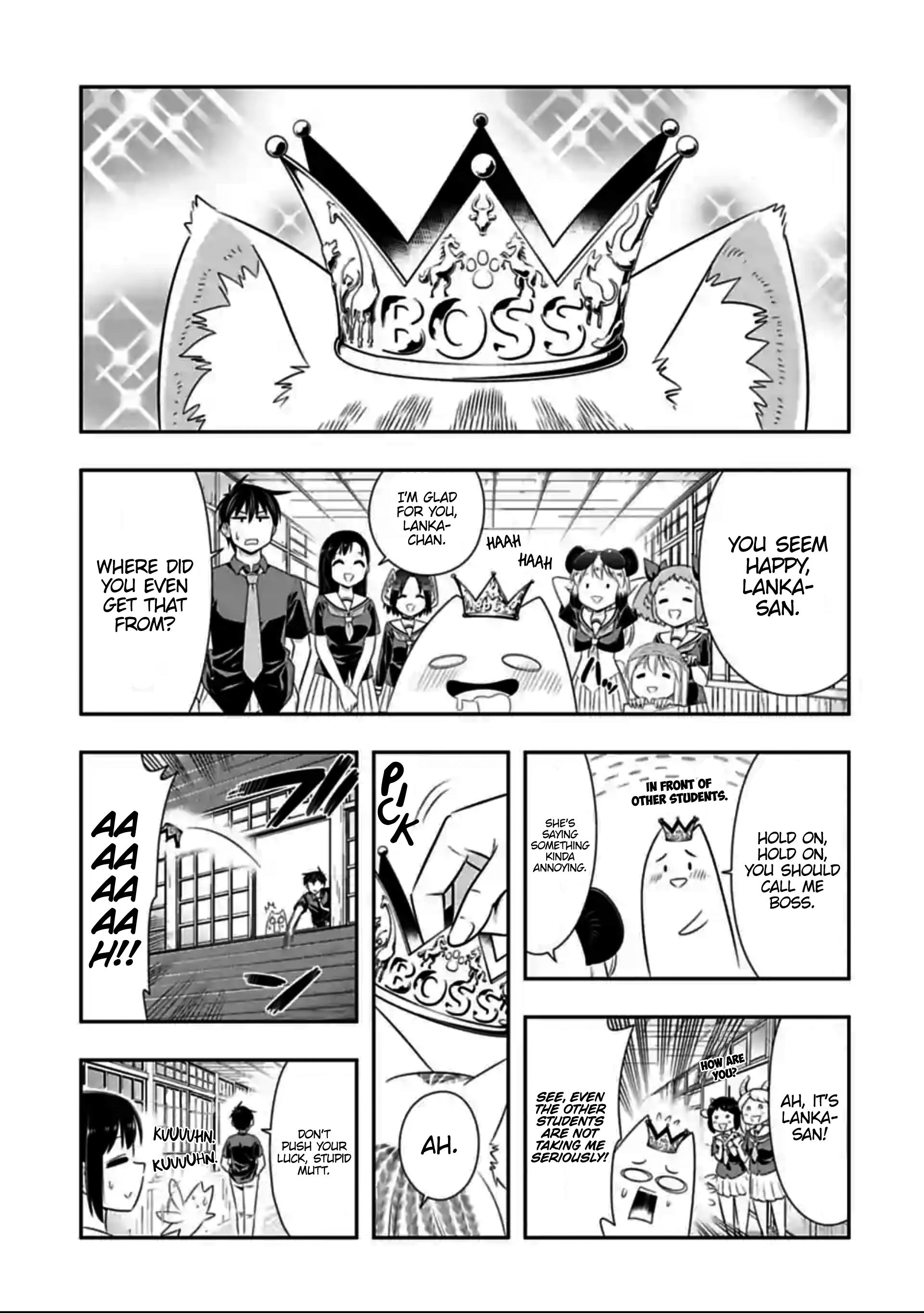 Manga Murenase! Shiiton Gakuen - Chapter 128 Page 1