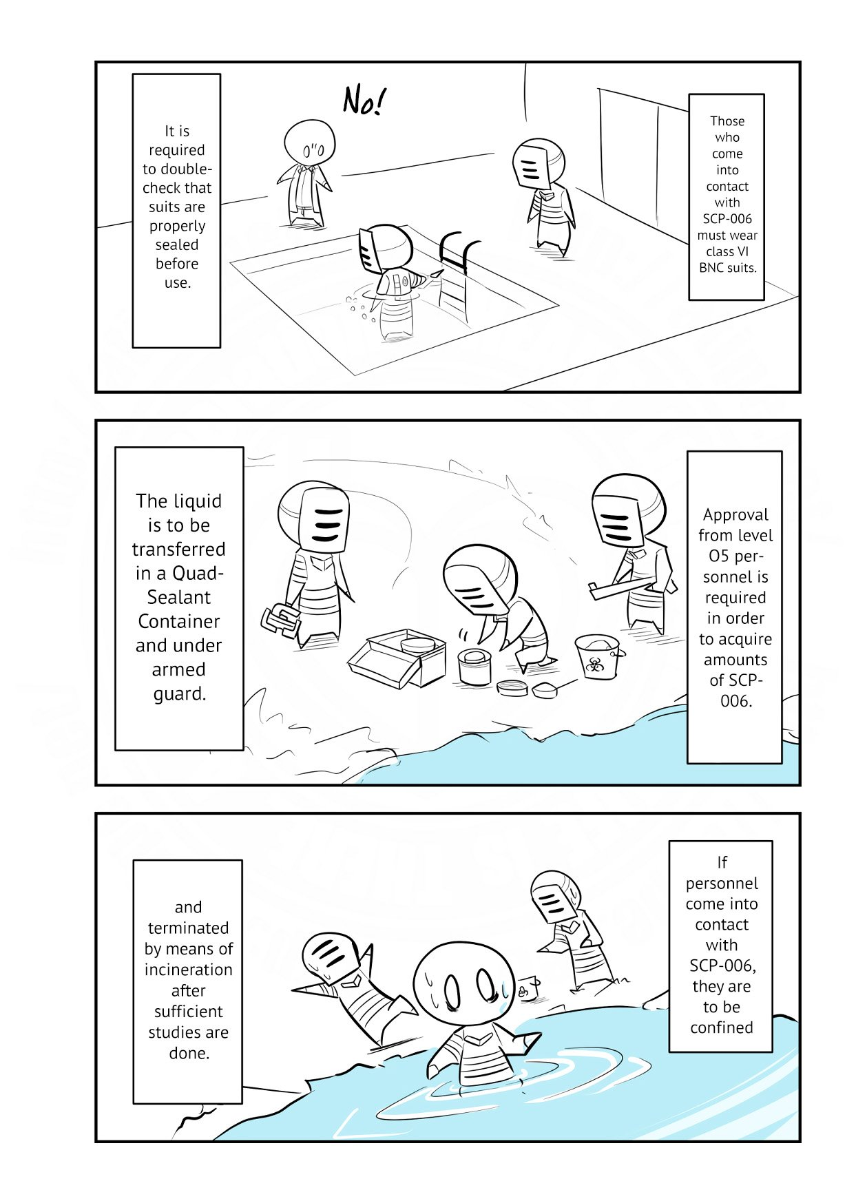 Manga Oversimplified SCP - Chapter 118 Page 3