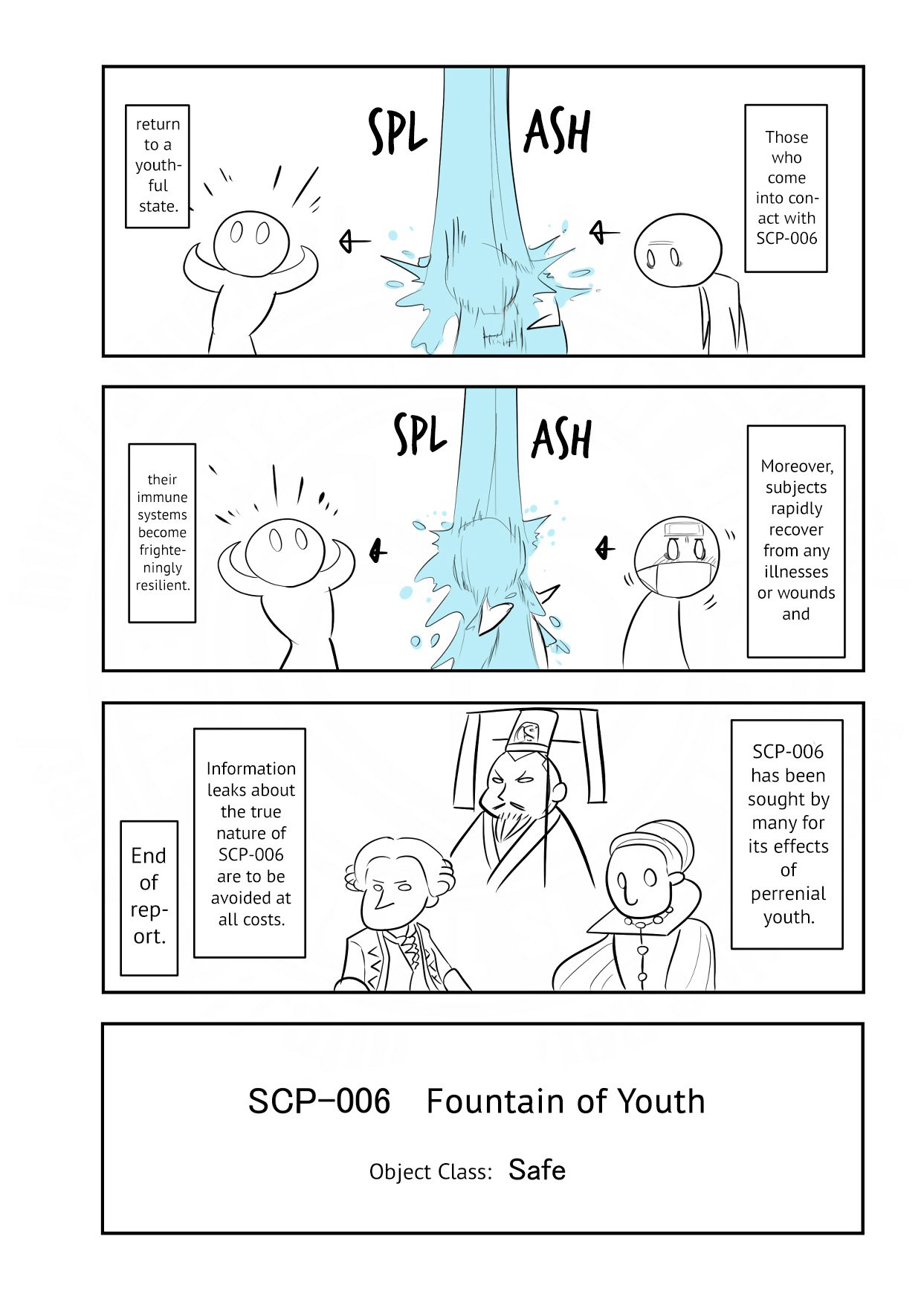 Manga Oversimplified SCP - Chapter 118 Page 4