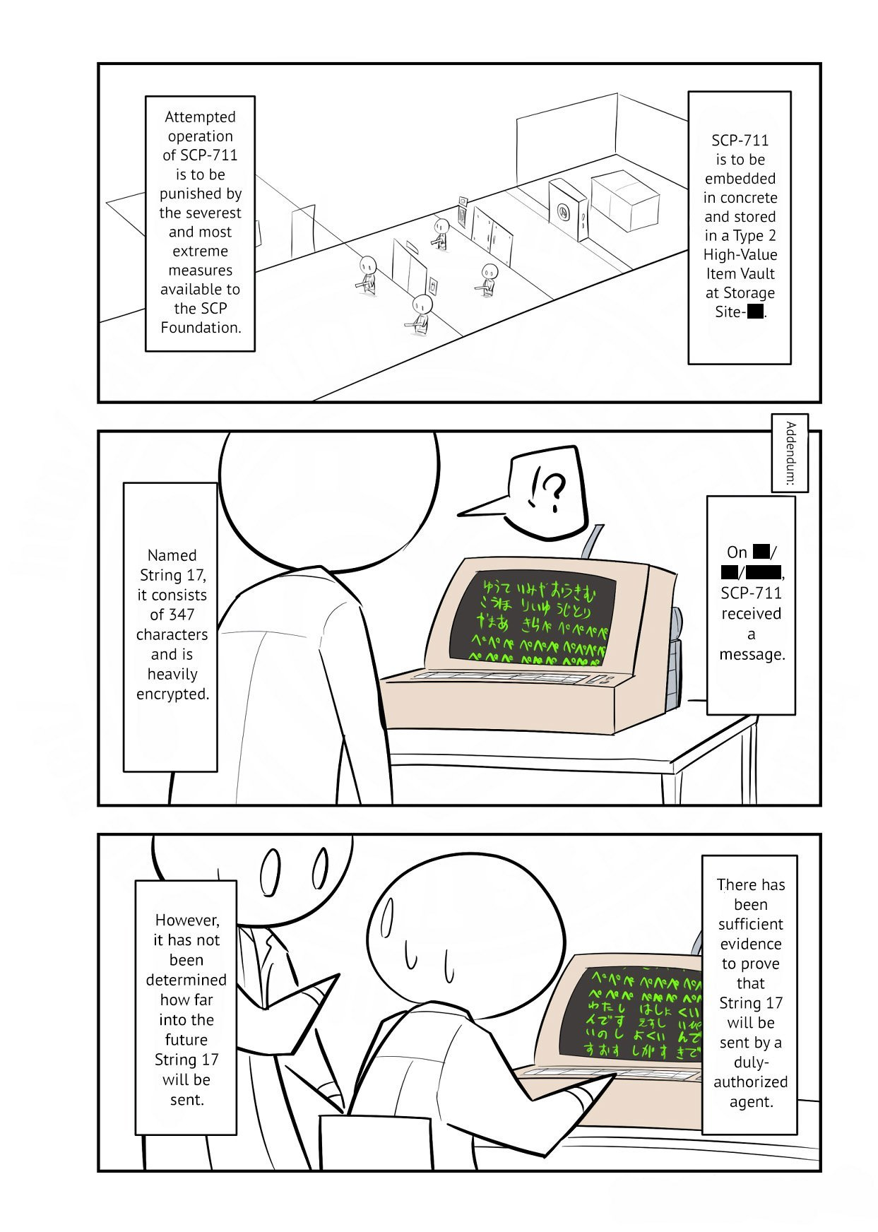 Manga Oversimplified SCP - Chapter 134 Page 4