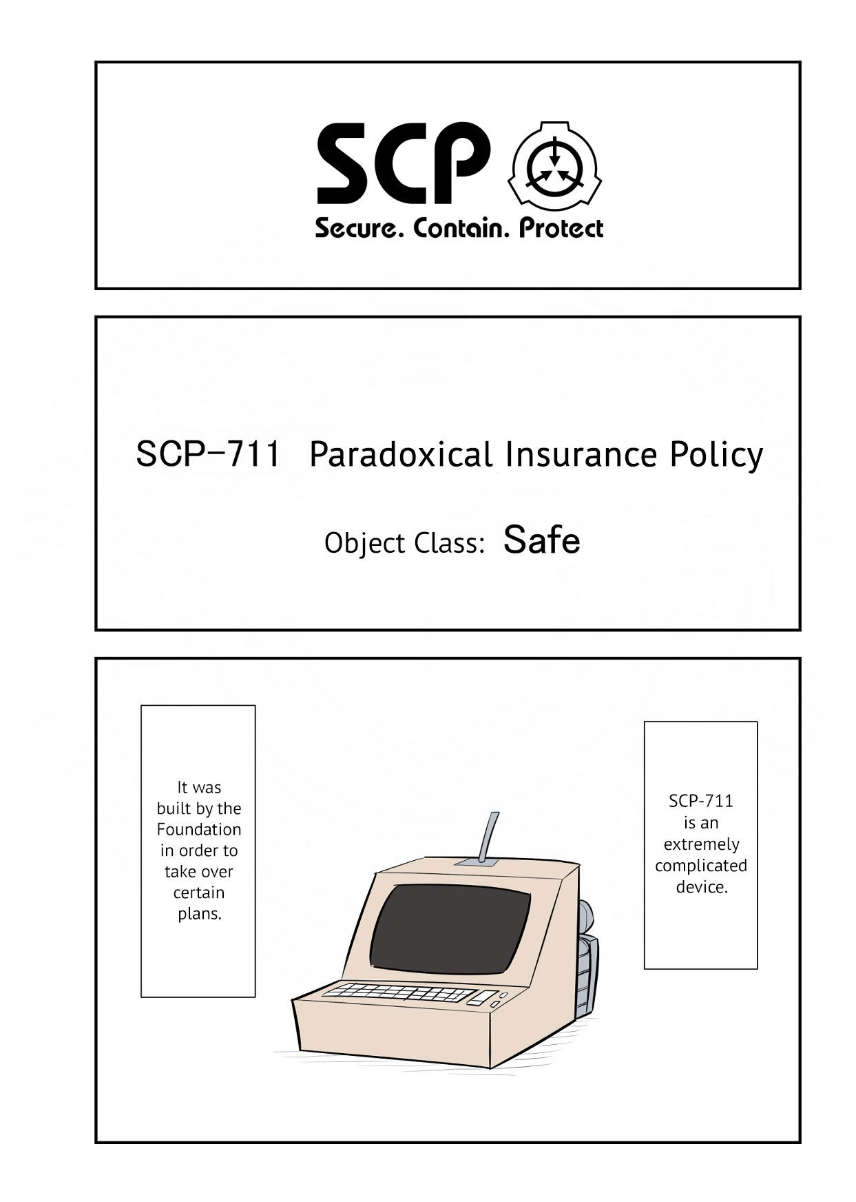 Manga Oversimplified SCP - Chapter 134 Page 2