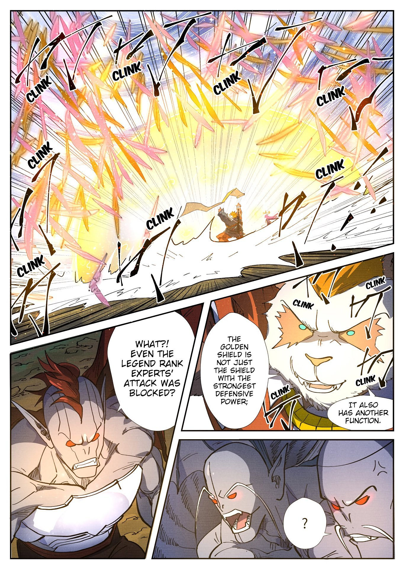 Manga Tales of Demons and Gods - Chapter 285.5 Page 9