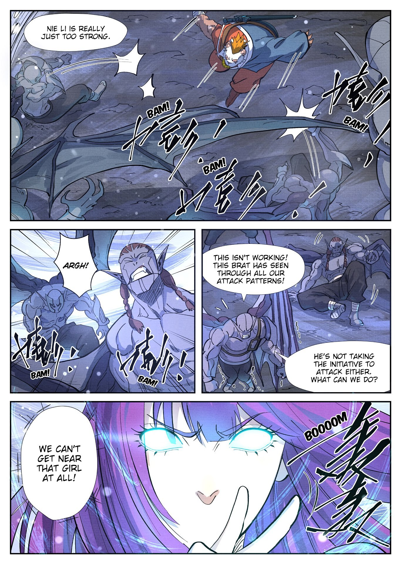 Manga Tales of Demons and Gods - Chapter 285.5 Page 4