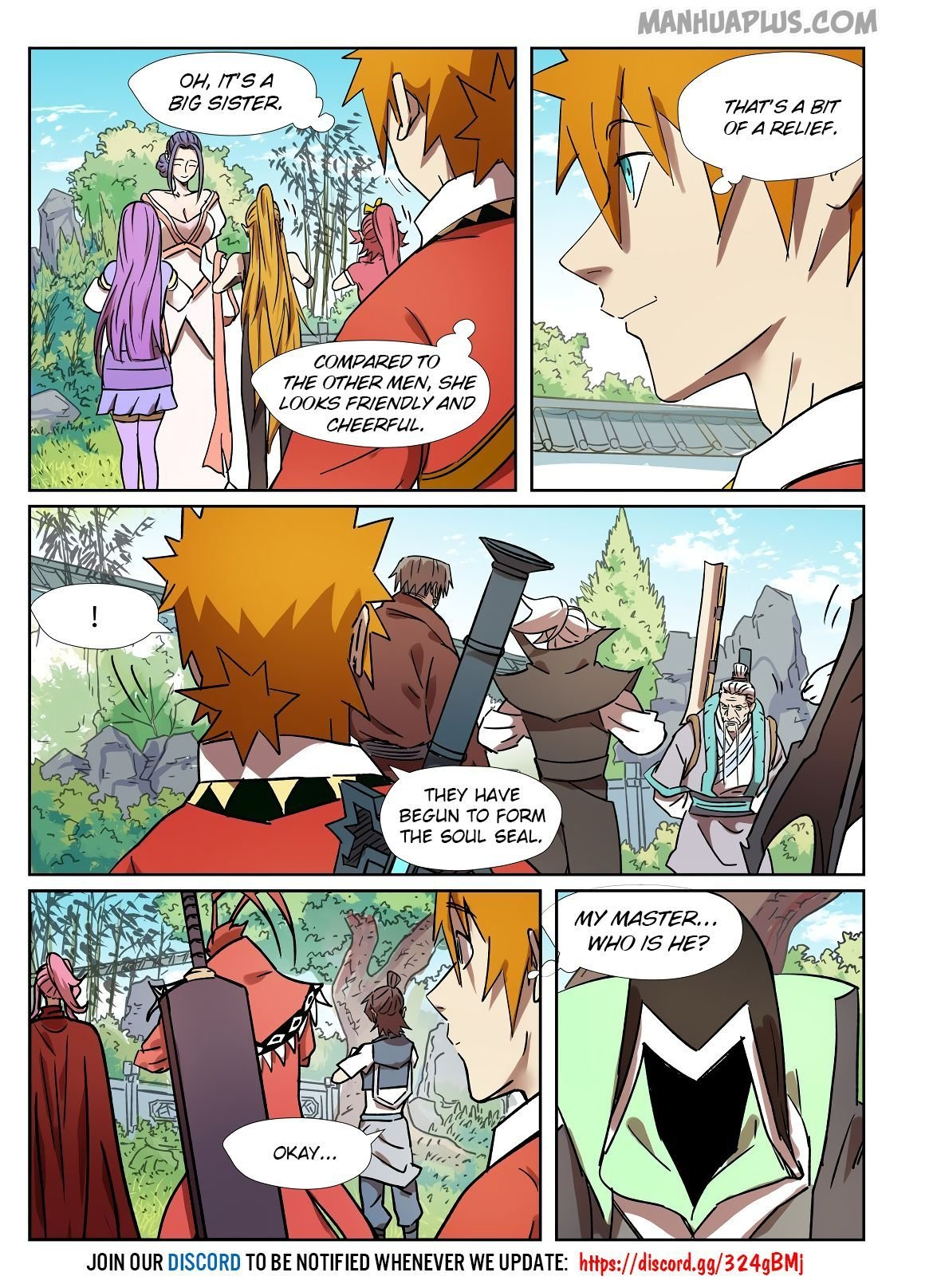 Manga Tales of Demons and Gods - Chapter 287.5 Page 11