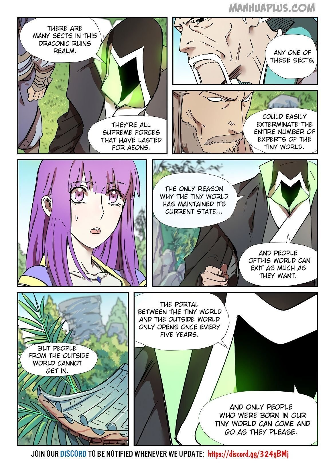 Manga Tales of Demons and Gods - Chapter 287.5 Page 3