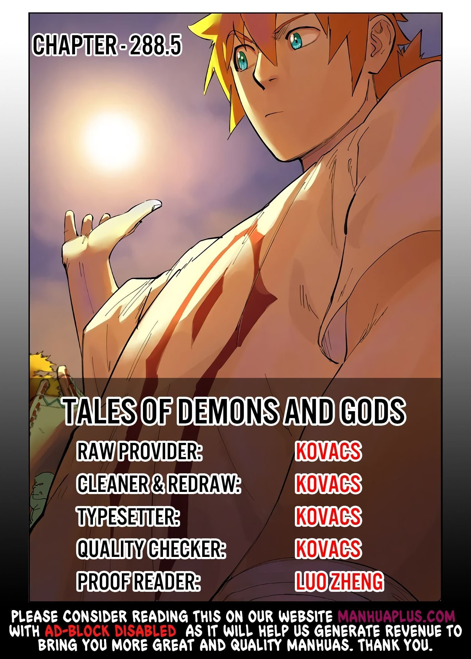 Manga Tales of Demons and Gods - Chapter 288.5 Page 1