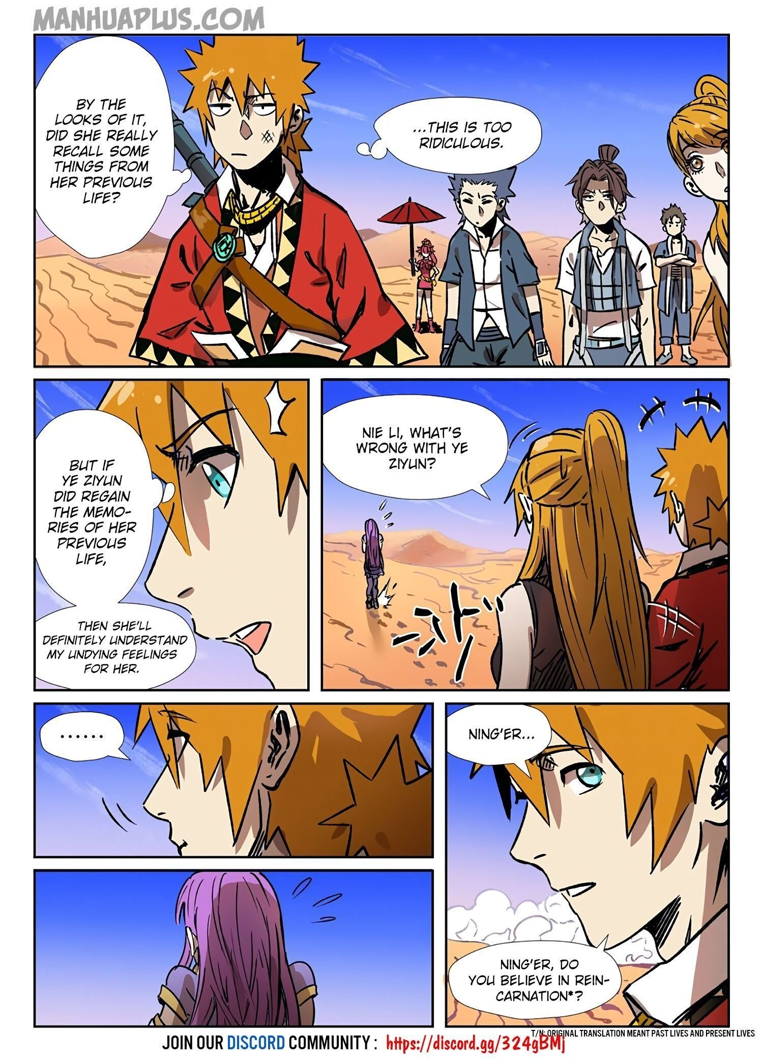 Manga Tales of Demons and Gods - Chapter 288.5 Page 11