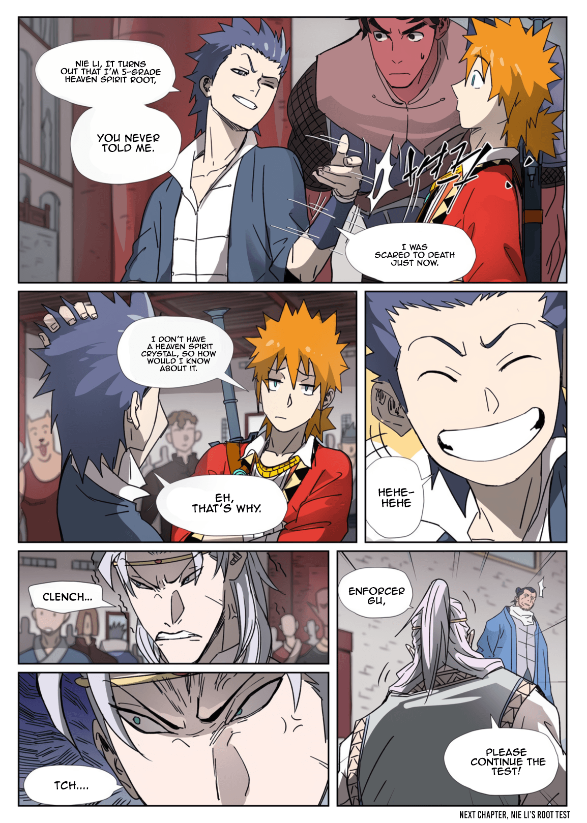 Manga Tales of Demons and Gods - Chapter 300.1 Page 10