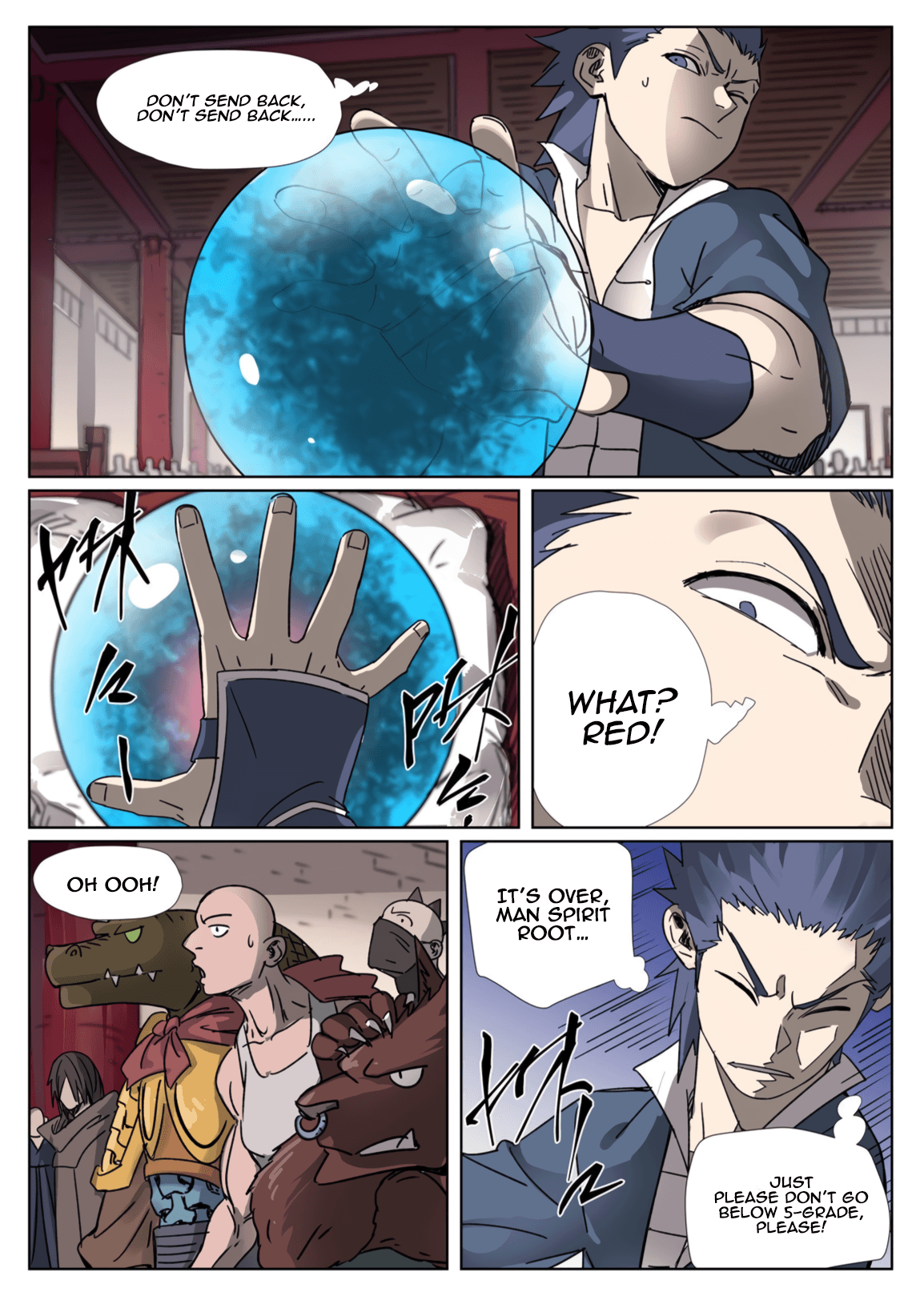 Manga Tales of Demons and Gods - Chapter 300.1 Page 4