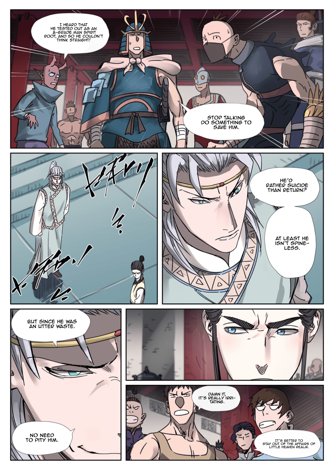 Manga Tales of Demons and Gods - Chapter 300.1 Page 2