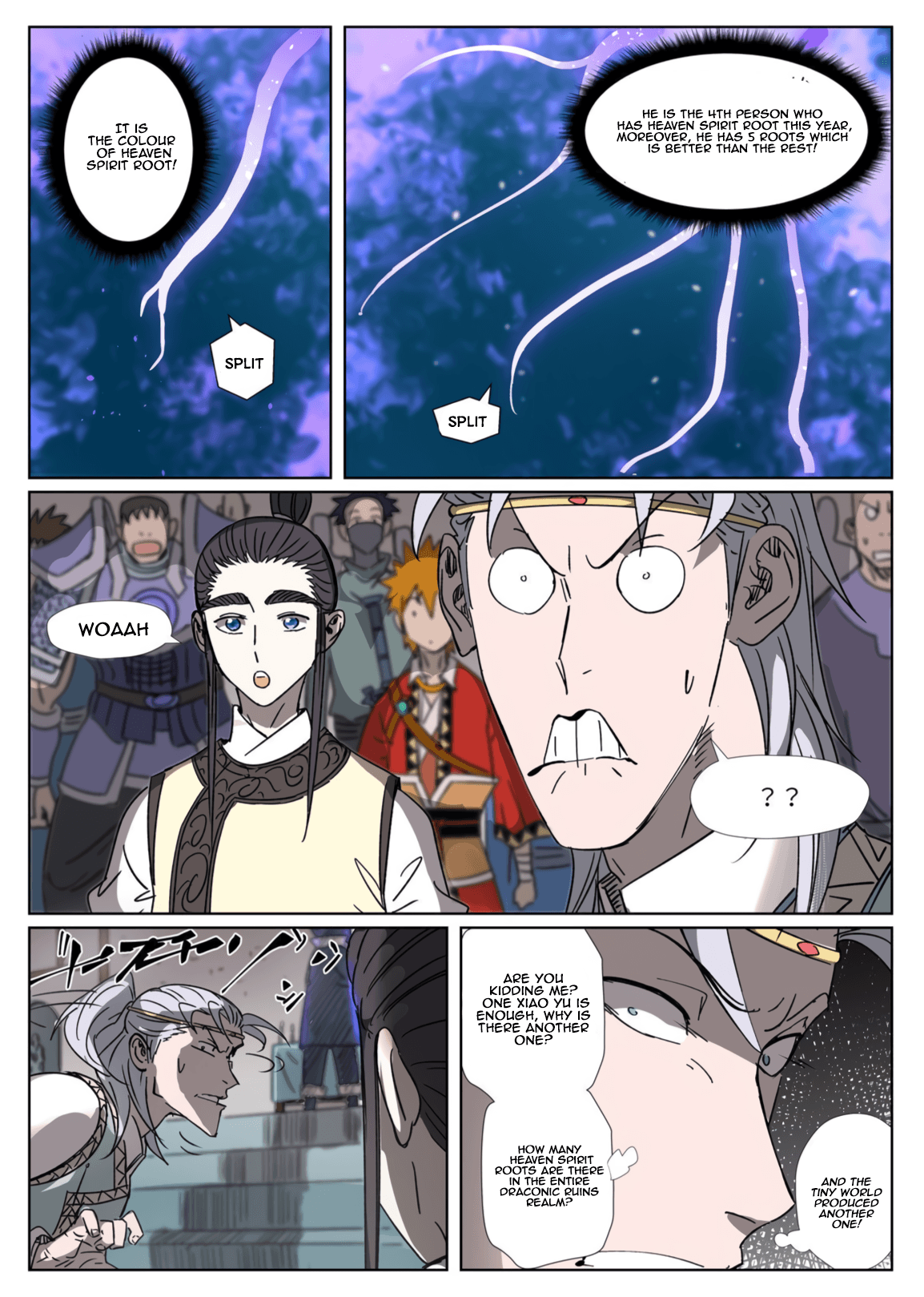 Manga Tales of Demons and Gods - Chapter 300.1 Page 6