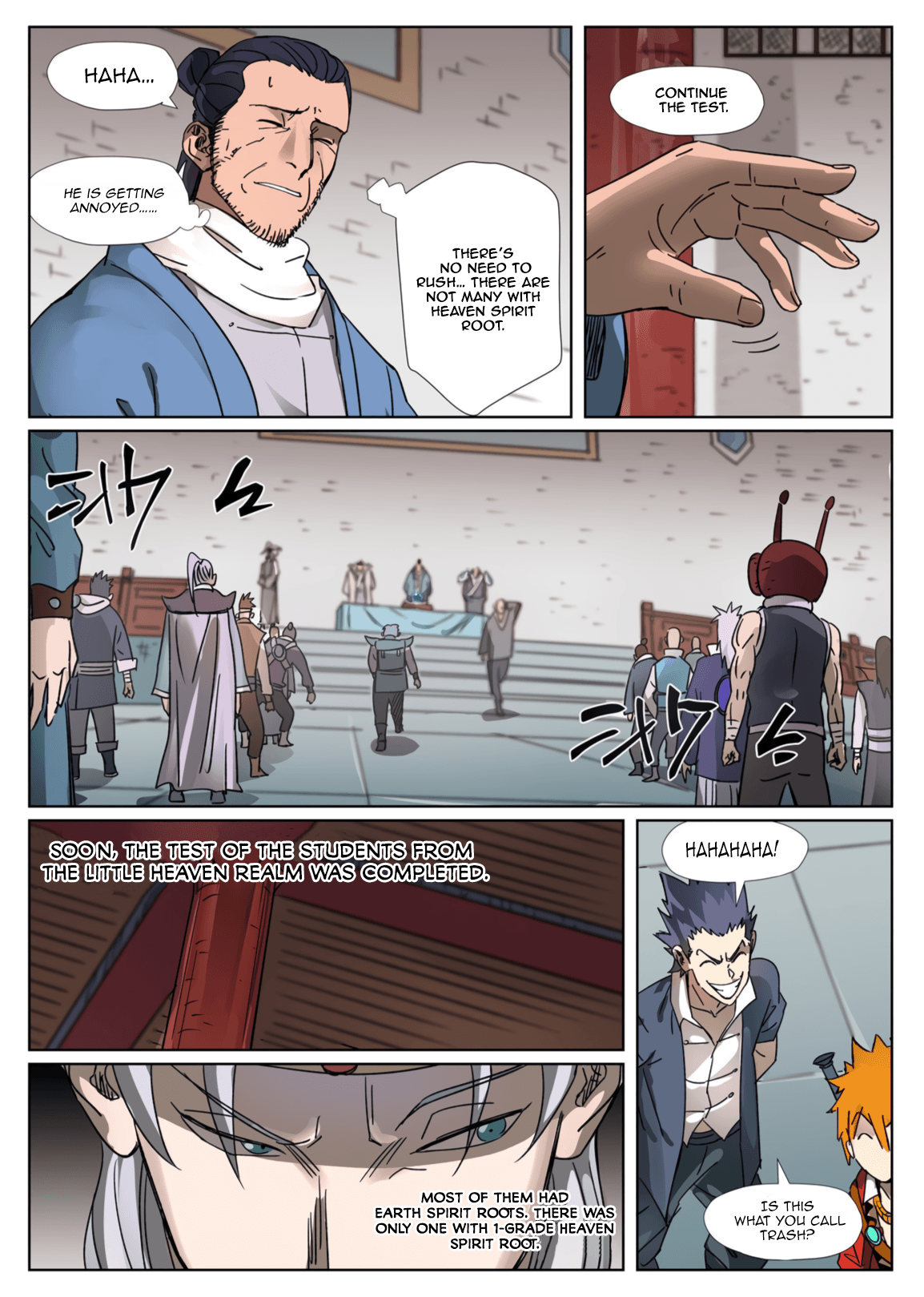Manga Tales of Demons and Gods - Chapter 300.5 Page 2