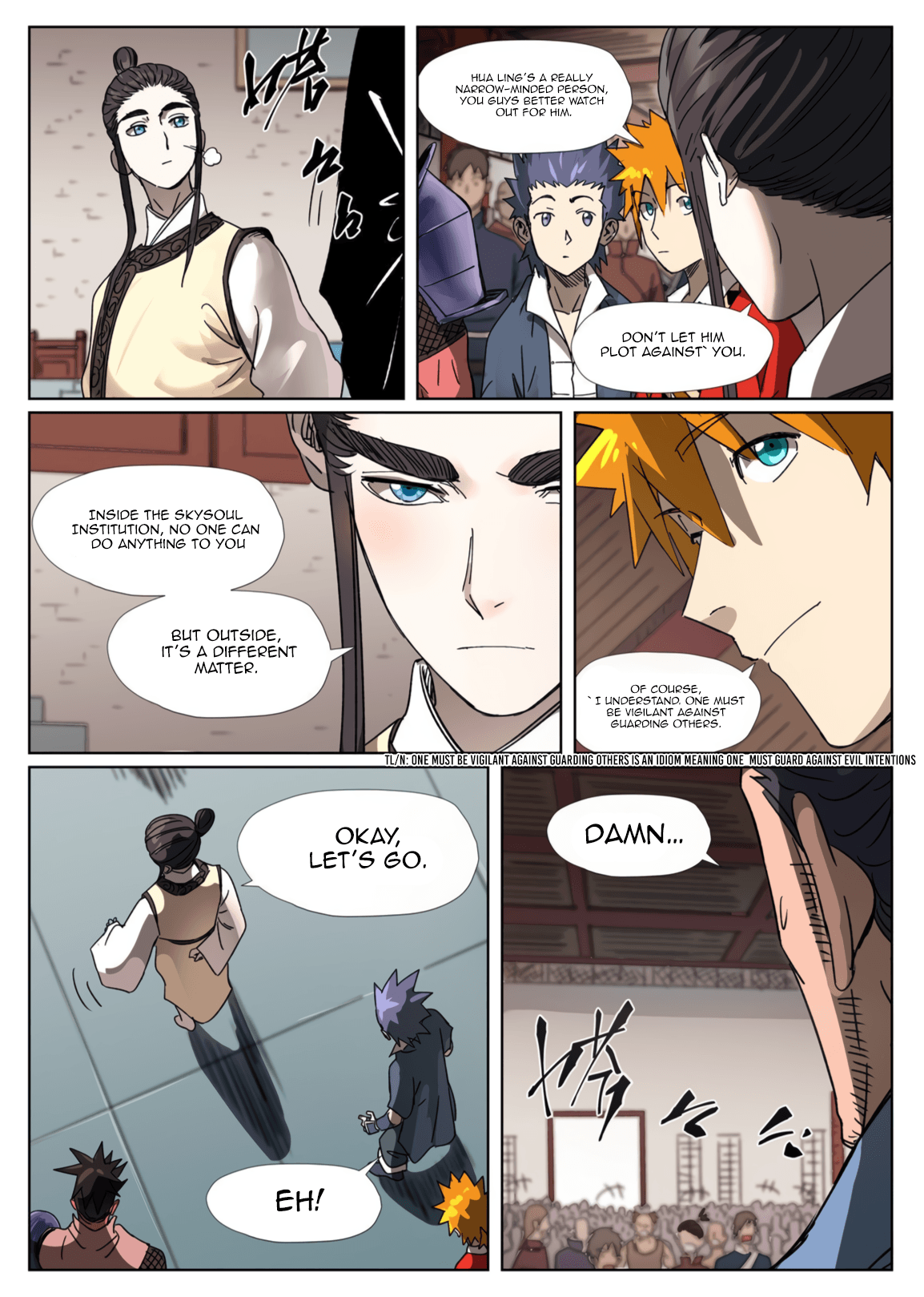 Manga Tales of Demons and Gods - Chapter 300.5 Page 9