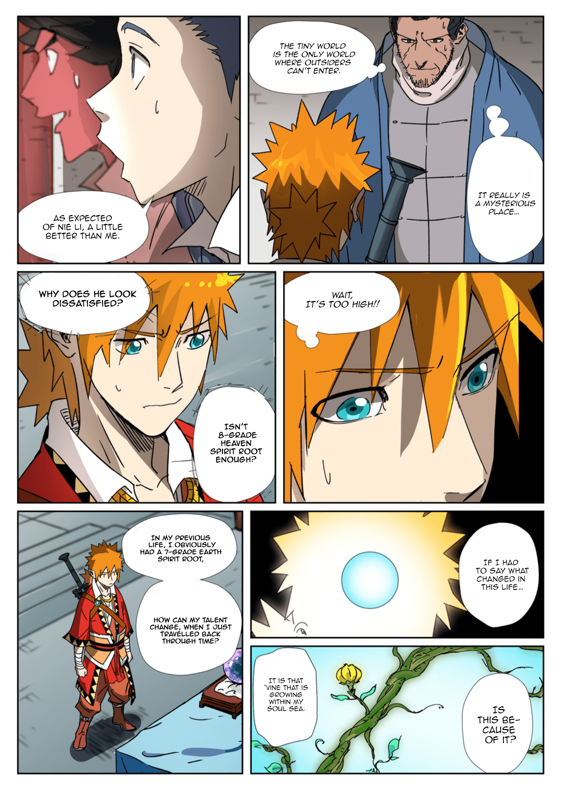 Manga Tales of Demons and Gods - Chapter 300.5 Page 7
