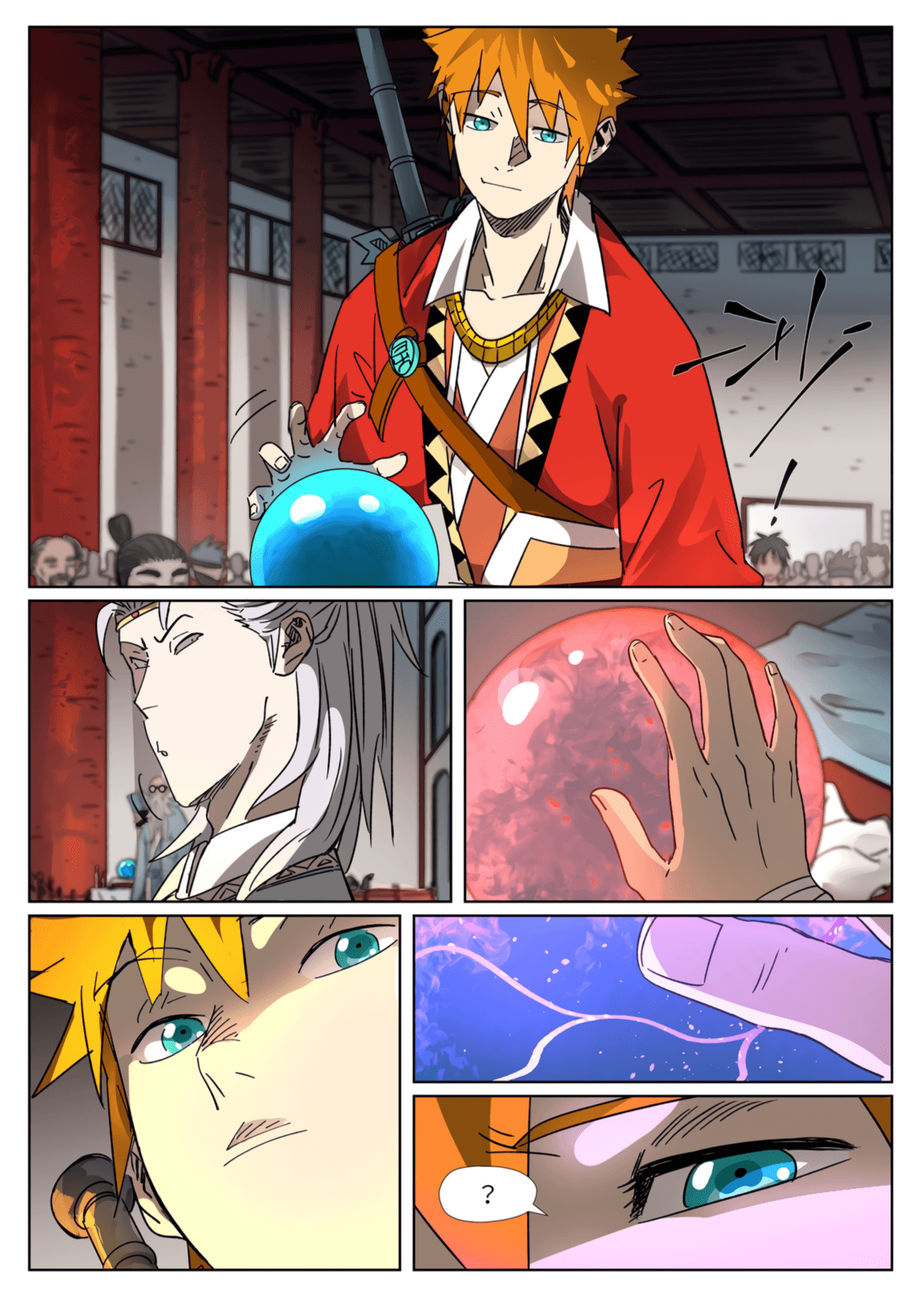 Manga Tales of Demons and Gods - Chapter 300.5 Page 4
