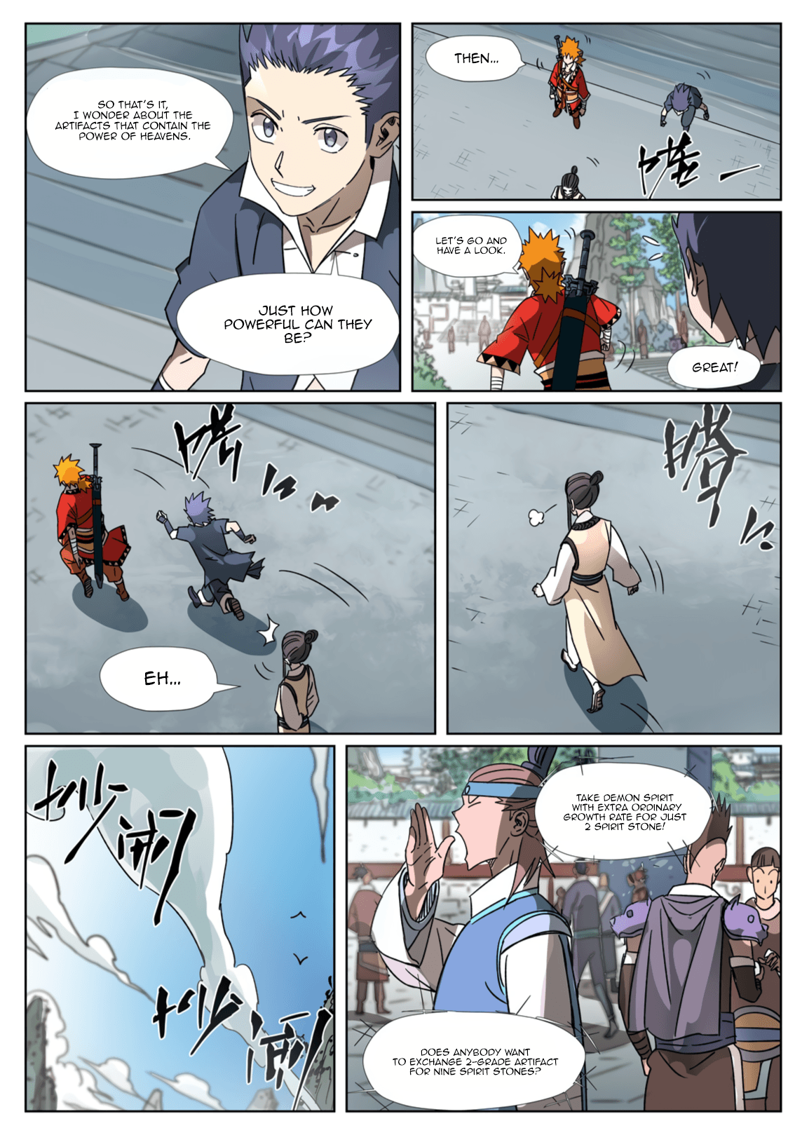 Manga Tales of Demons and Gods - Chapter 301.1 Page 7