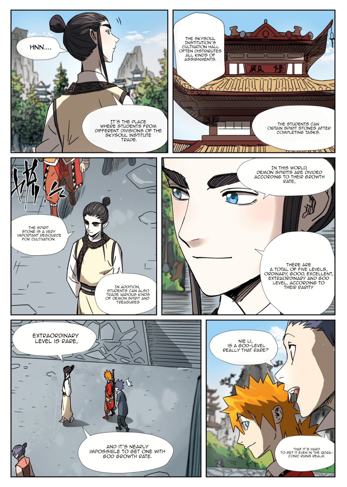 Manga Tales of Demons and Gods - Chapter 301.1 Page 4