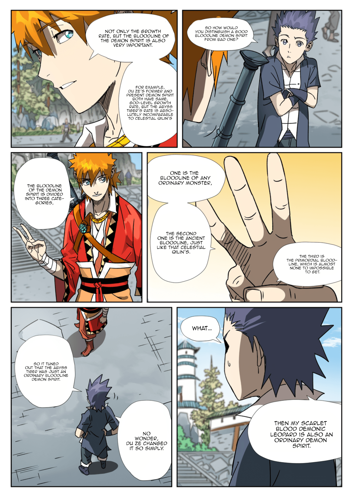 Manga Tales of Demons and Gods - Chapter 301.1 Page 5