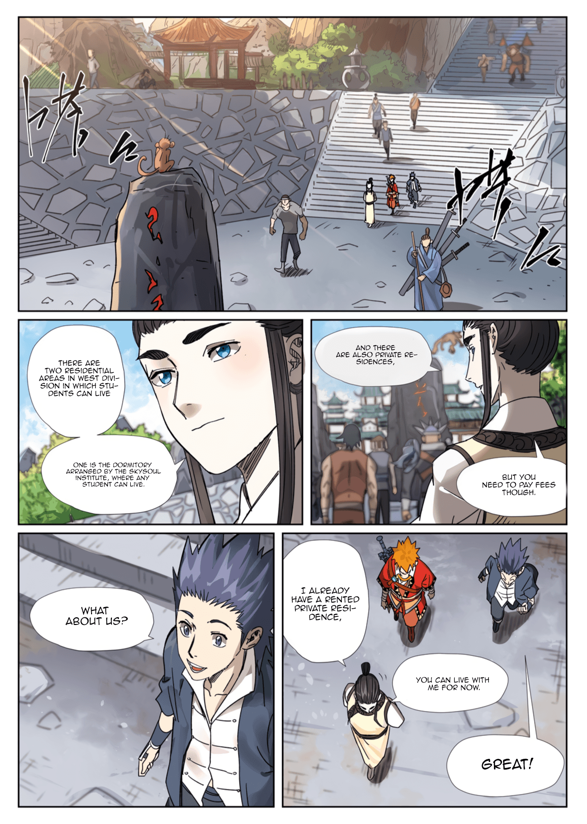 Manga Tales of Demons and Gods - Chapter 301.1 Page 2
