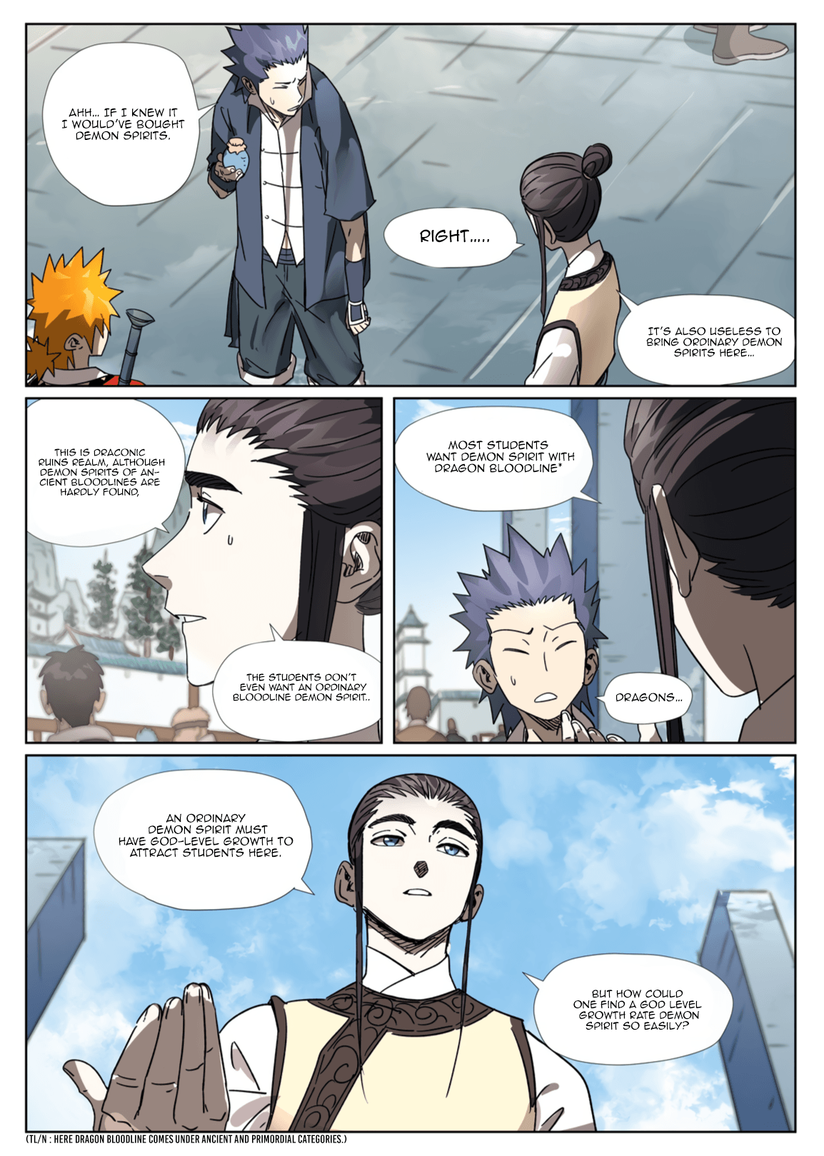 Manga Tales of Demons and Gods - Chapter 301.1 Page 9