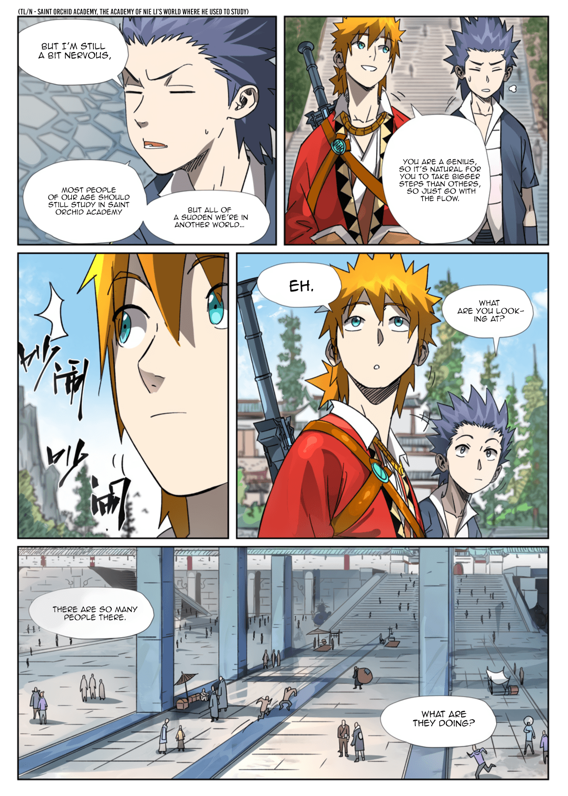 Manga Tales of Demons and Gods - Chapter 301.1 Page 3