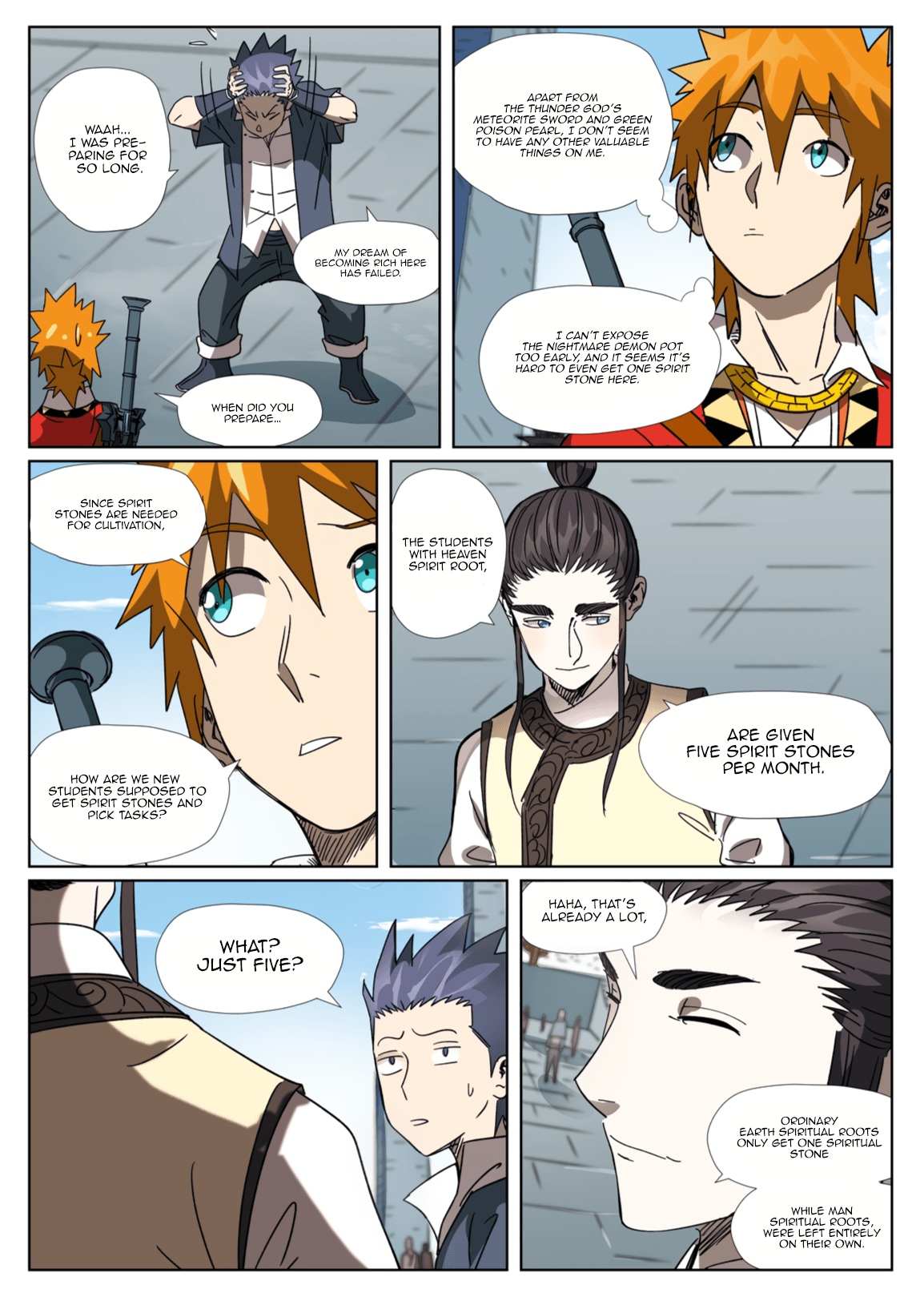 Manga Tales of Demons and Gods - Chapter 301.1 Page 10
