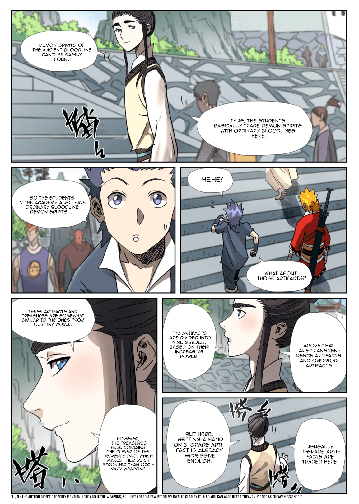 Manga Tales of Demons and Gods - Chapter 301.1 Page 6