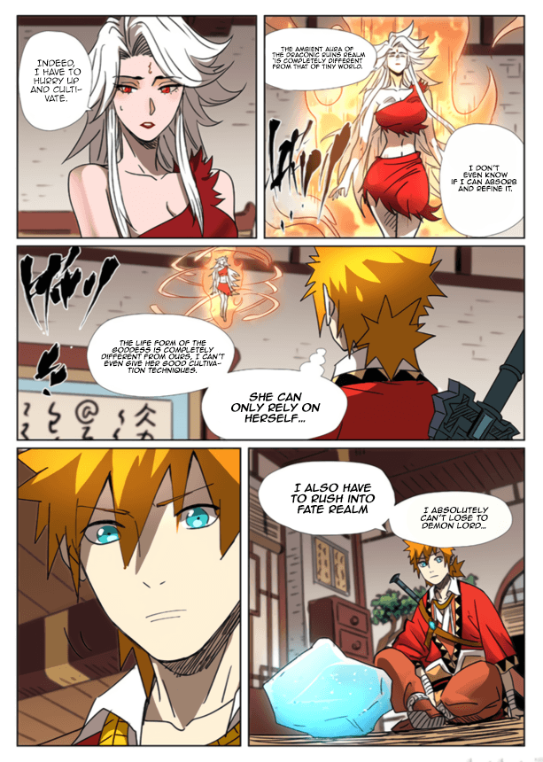 Manga Tales of Demons and Gods - Chapter 301.5 Page 11
