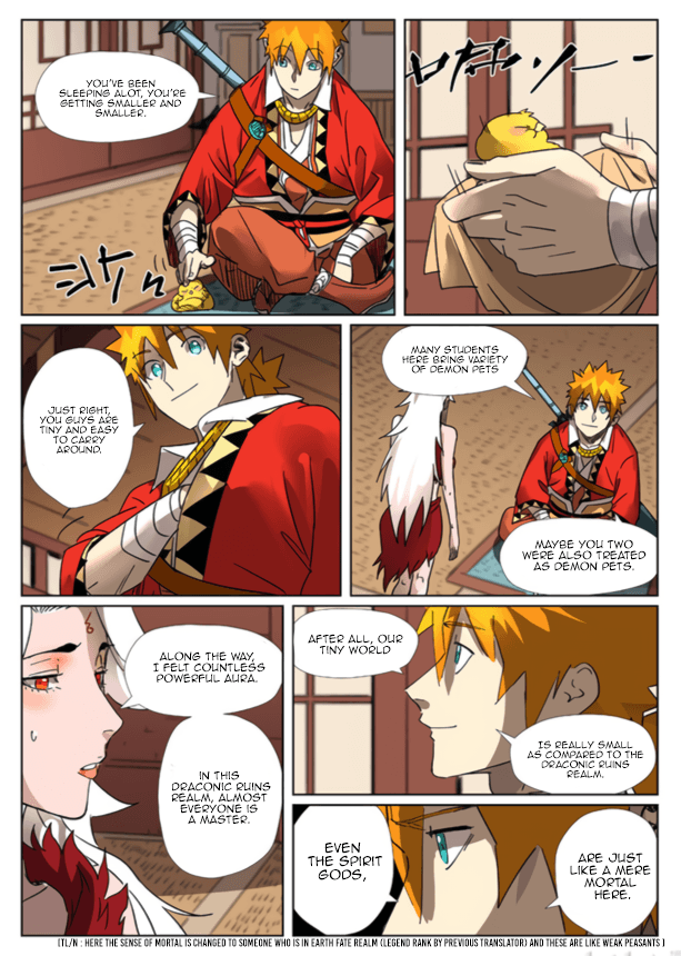 Manga Tales of Demons and Gods - Chapter 301.5 Page 10