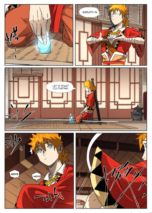 Manga Tales of Demons and Gods - Chapter 301.5 Page 8