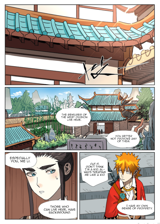 Manga Tales of Demons and Gods - Chapter 301.5 Page 5