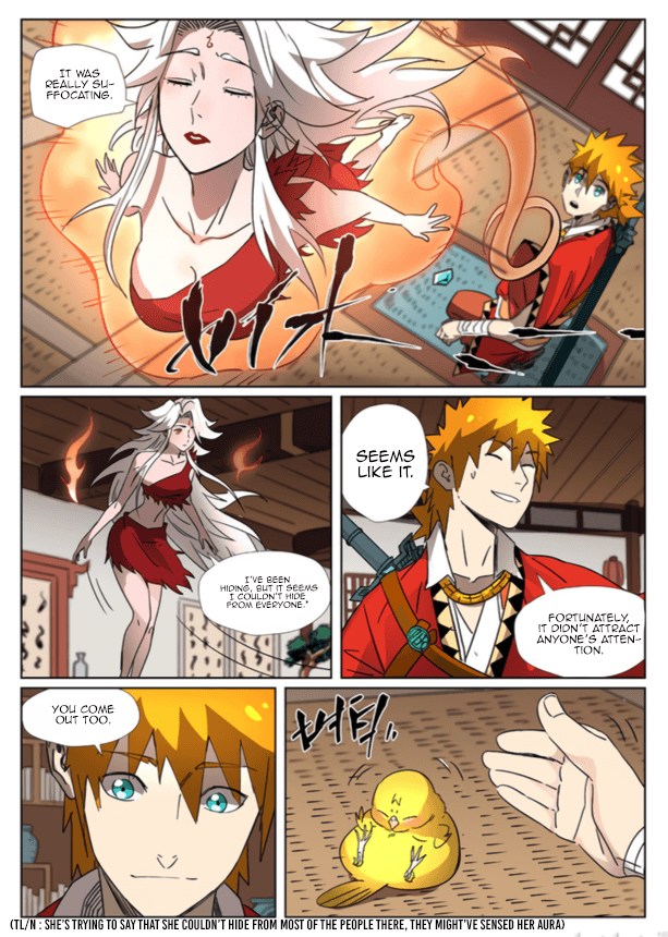 Manga Tales of Demons and Gods - Chapter 301.5 Page 9