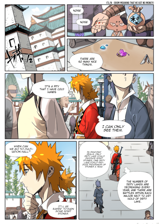 Manga Tales of Demons and Gods - Chapter 301.5 Page 2